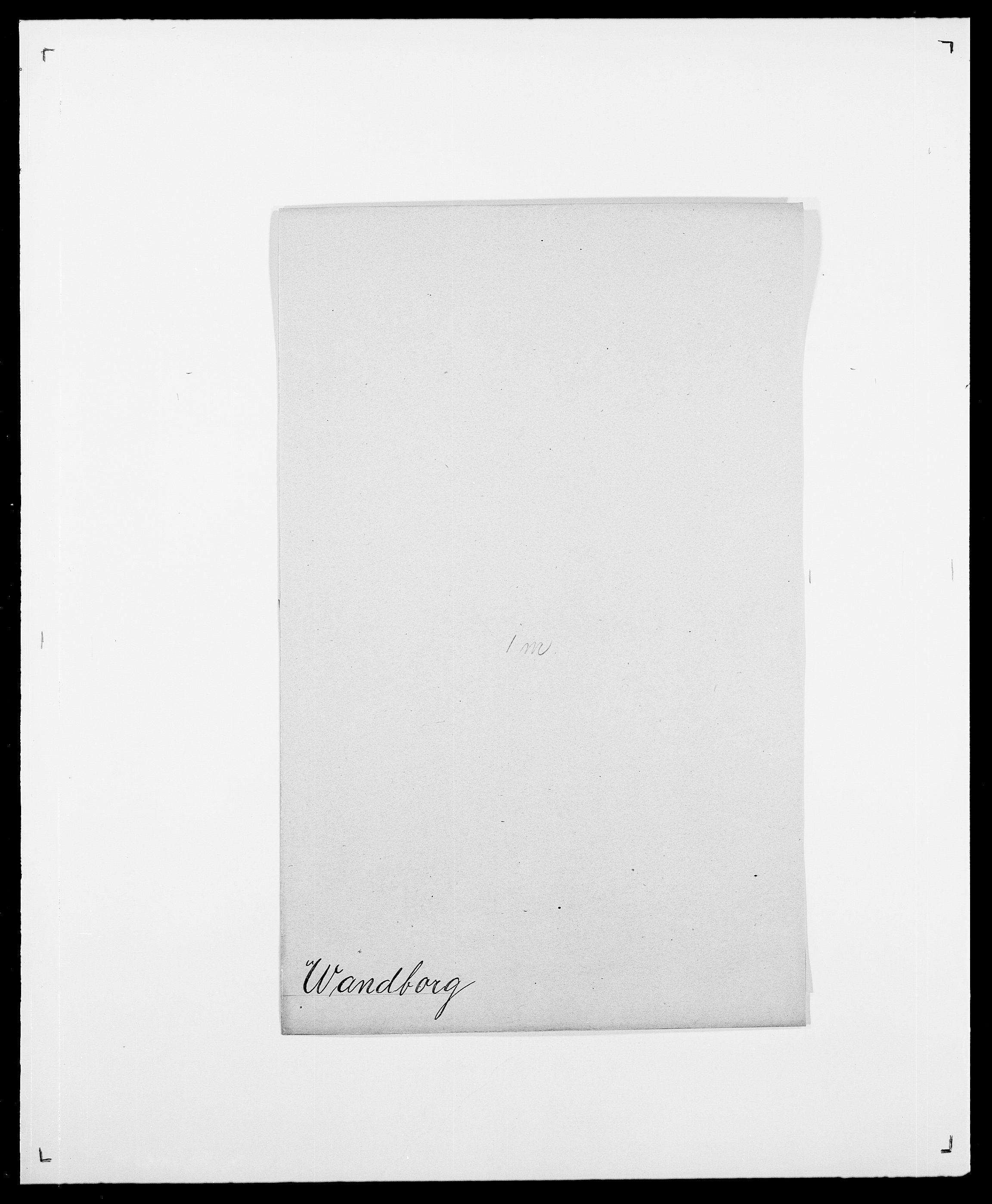 SAO, Delgobe, Charles Antoine - samling, D/Da/L0040: Usgaard - Velund, s. 272