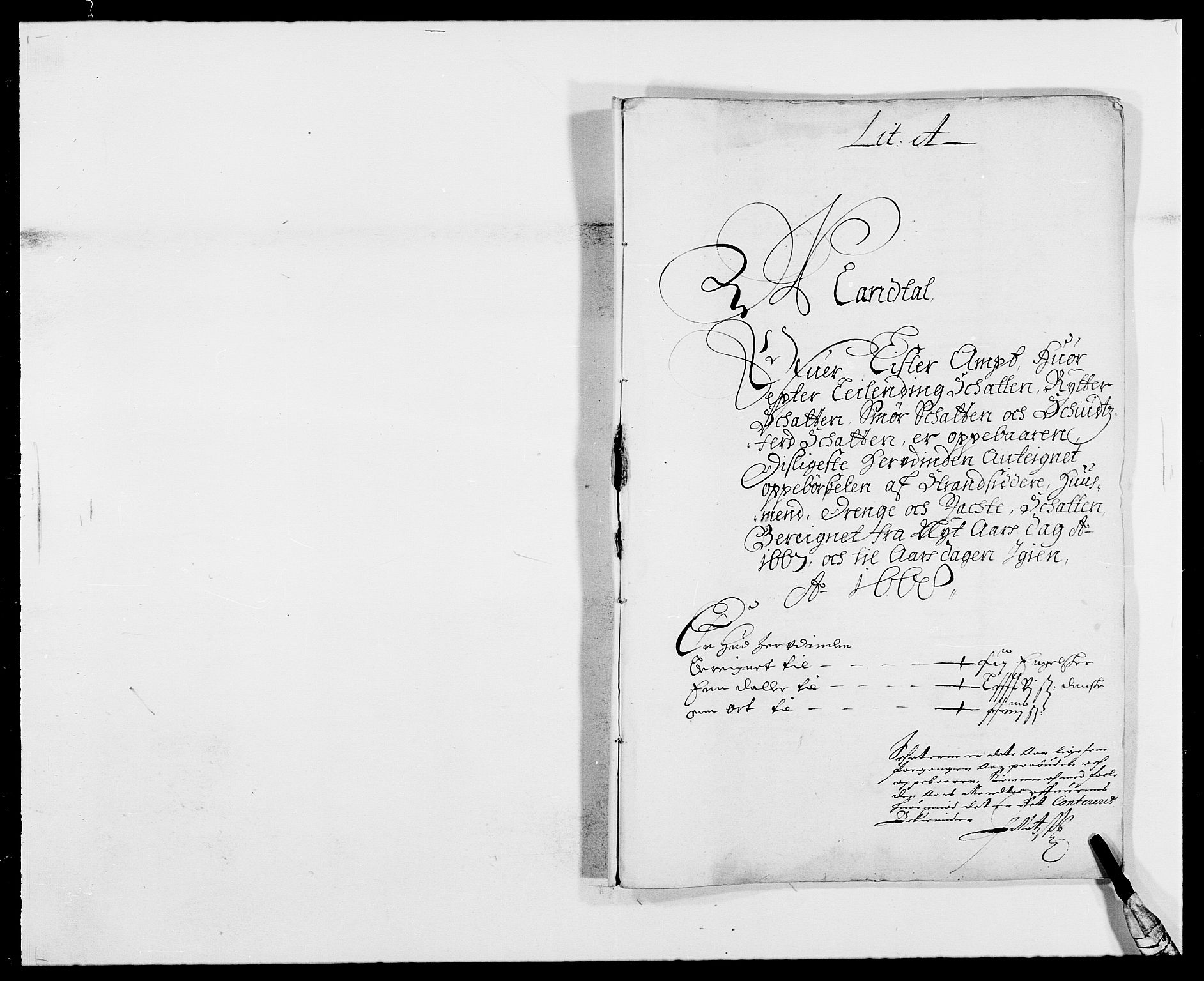 RA, Rentekammeret inntil 1814, Reviderte regnskaper, Fogderegnskap, R41/L2524: Fogderegnskap Lista, 1665-1668, s. 271