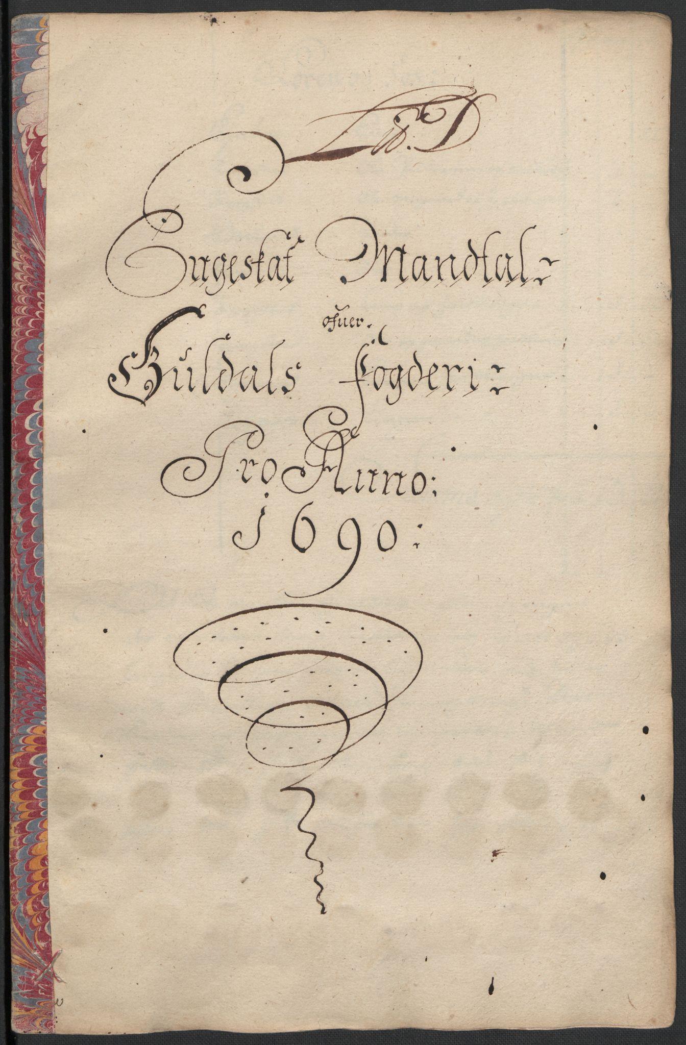 RA, Rentekammeret inntil 1814, Reviderte regnskaper, Fogderegnskap, R59/L3940: Fogderegnskap Gauldal, 1689-1690, s. 246