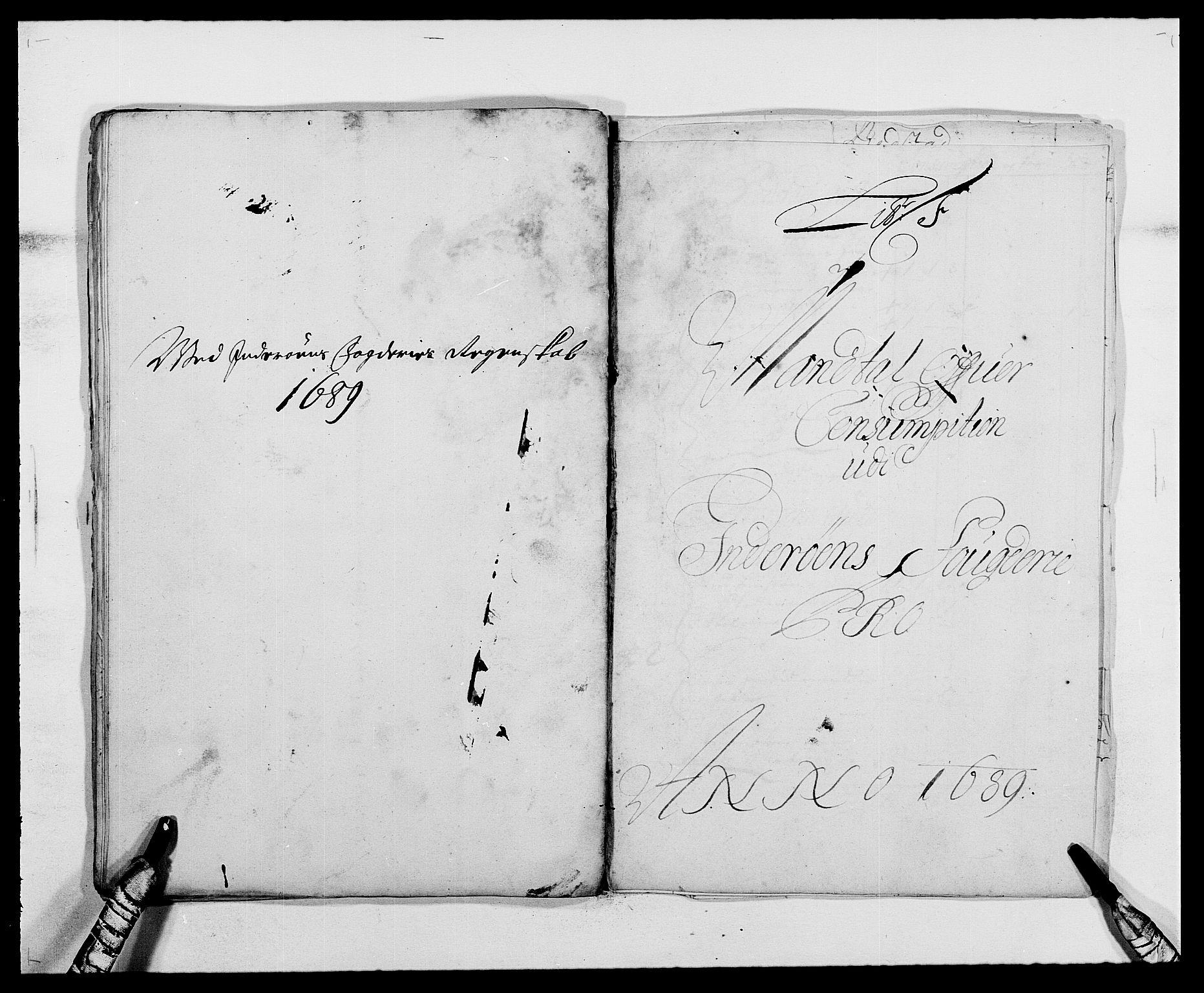 RA, Rentekammeret inntil 1814, Reviderte regnskaper, Fogderegnskap, R63/L4306: Fogderegnskap Inderøy, 1687-1689, s. 414