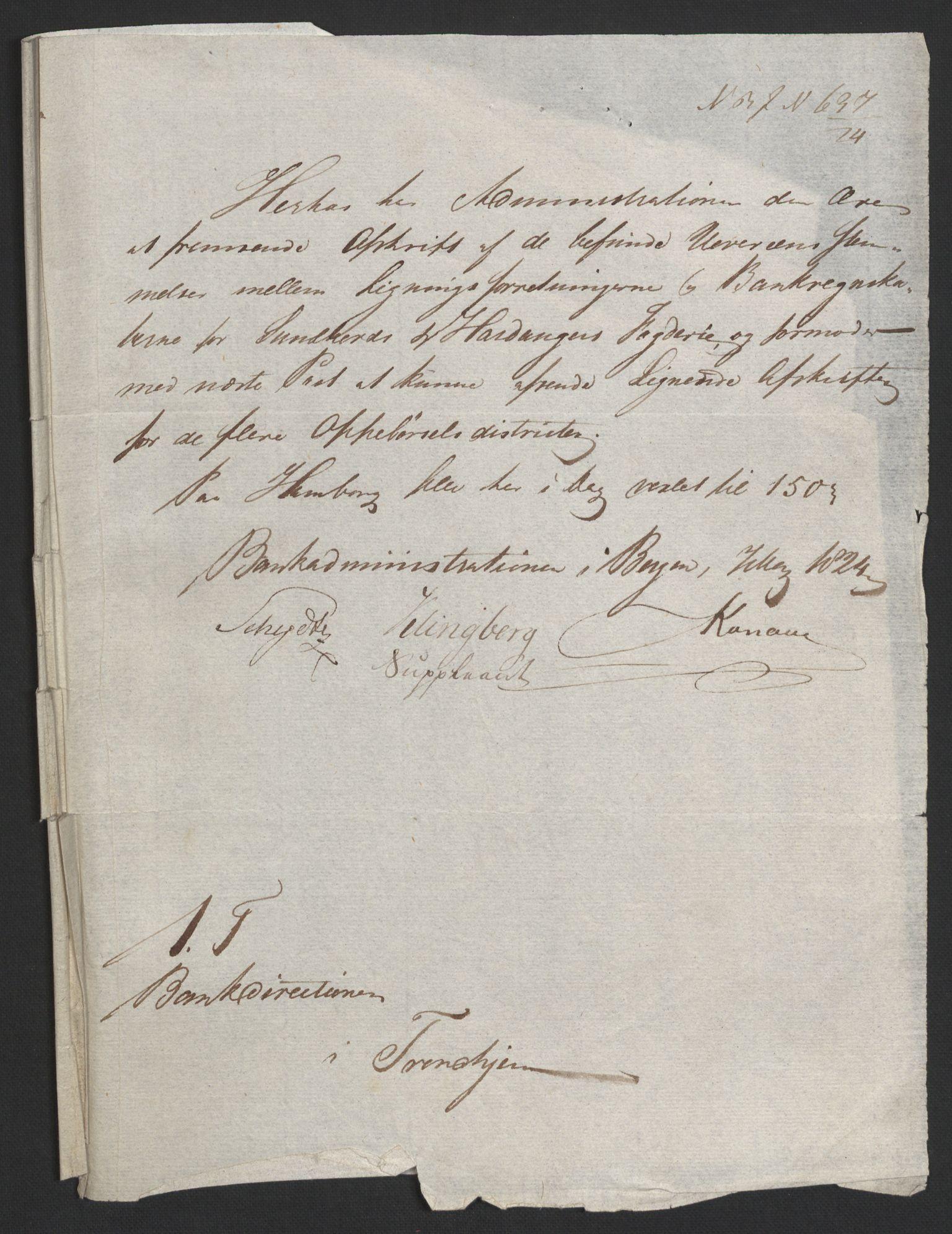 NOBA, Norges Bank/Sølvskatten 1816*, 1816, s. 165