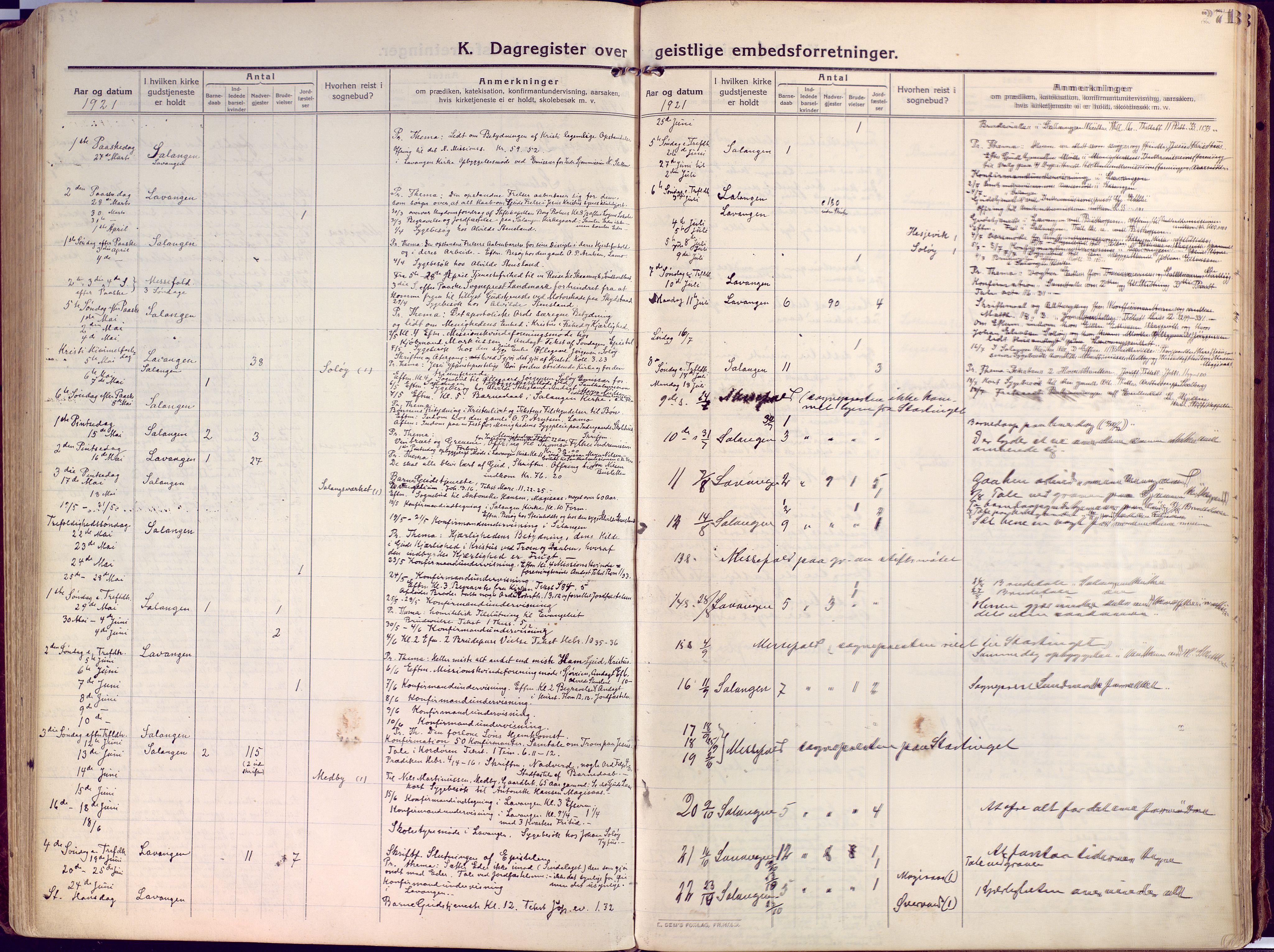 SATØ, Salangen sokneprestembete, Ministerialbok nr. 4, 1912-1927, s. 271