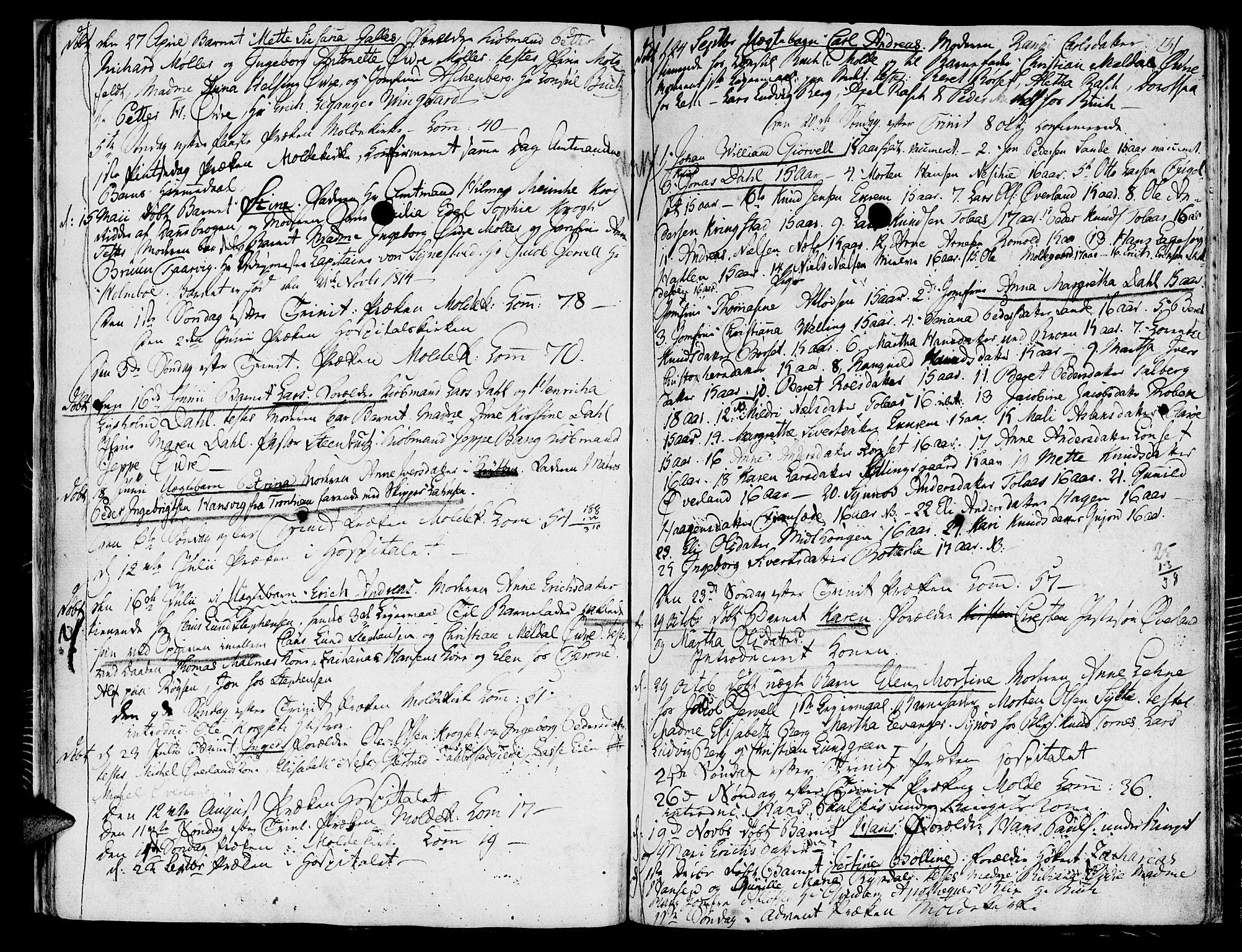 SAT, Ministerialprotokoller, klokkerbøker og fødselsregistre - Møre og Romsdal, 558/L0687: Ministerialbok nr. 558A01, 1798-1818, s. 31