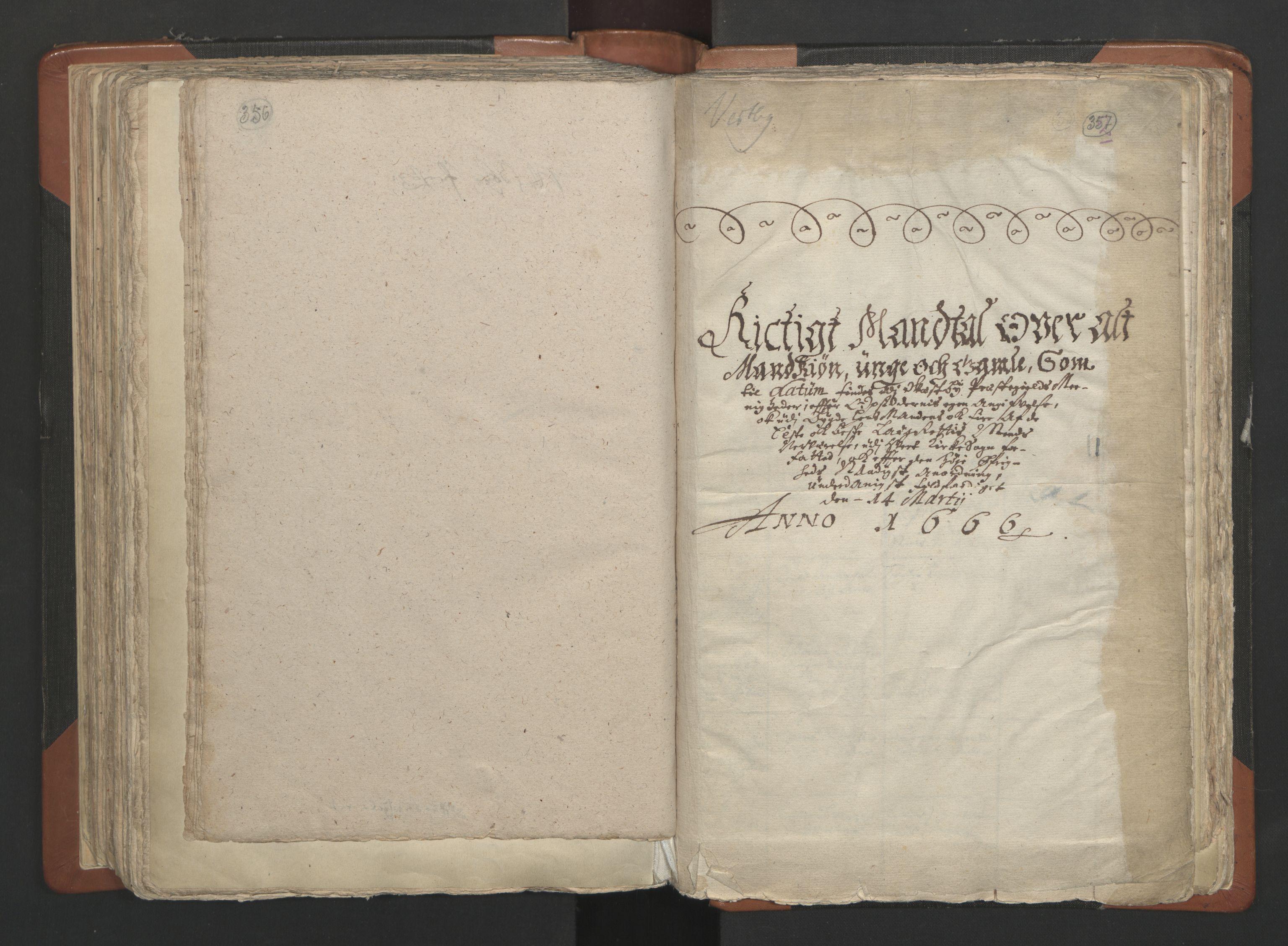 RA, Sogneprestenes manntall 1664-1666, nr. 2: Øvre Borgesyssel prosti, 1664-1666, s. 356-357