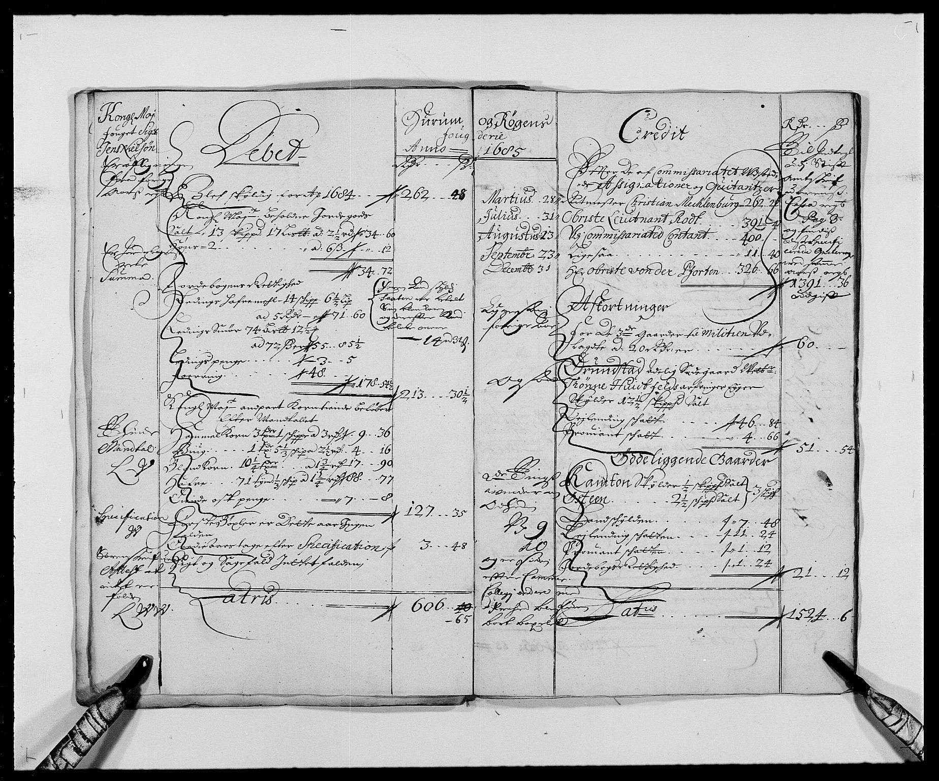 RA, Rentekammeret inntil 1814, Reviderte regnskaper, Fogderegnskap, R29/L1692: Fogderegnskap Hurum og Røyken, 1682-1687, s. 11