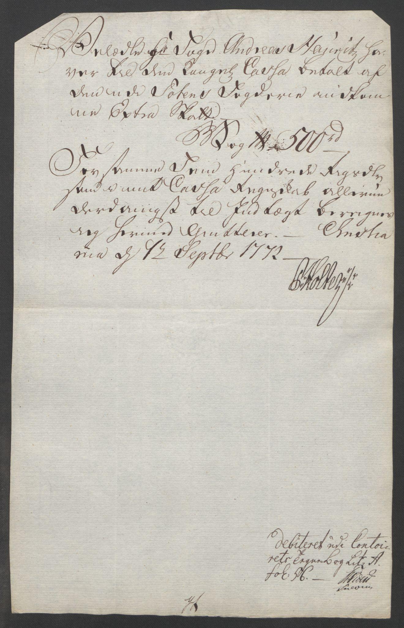RA, Rentekammeret inntil 1814, Reviderte regnskaper, Fogderegnskap, R19/L1399: Fogderegnskap Toten, Hadeland og Vardal, 1762-1783, s. 254