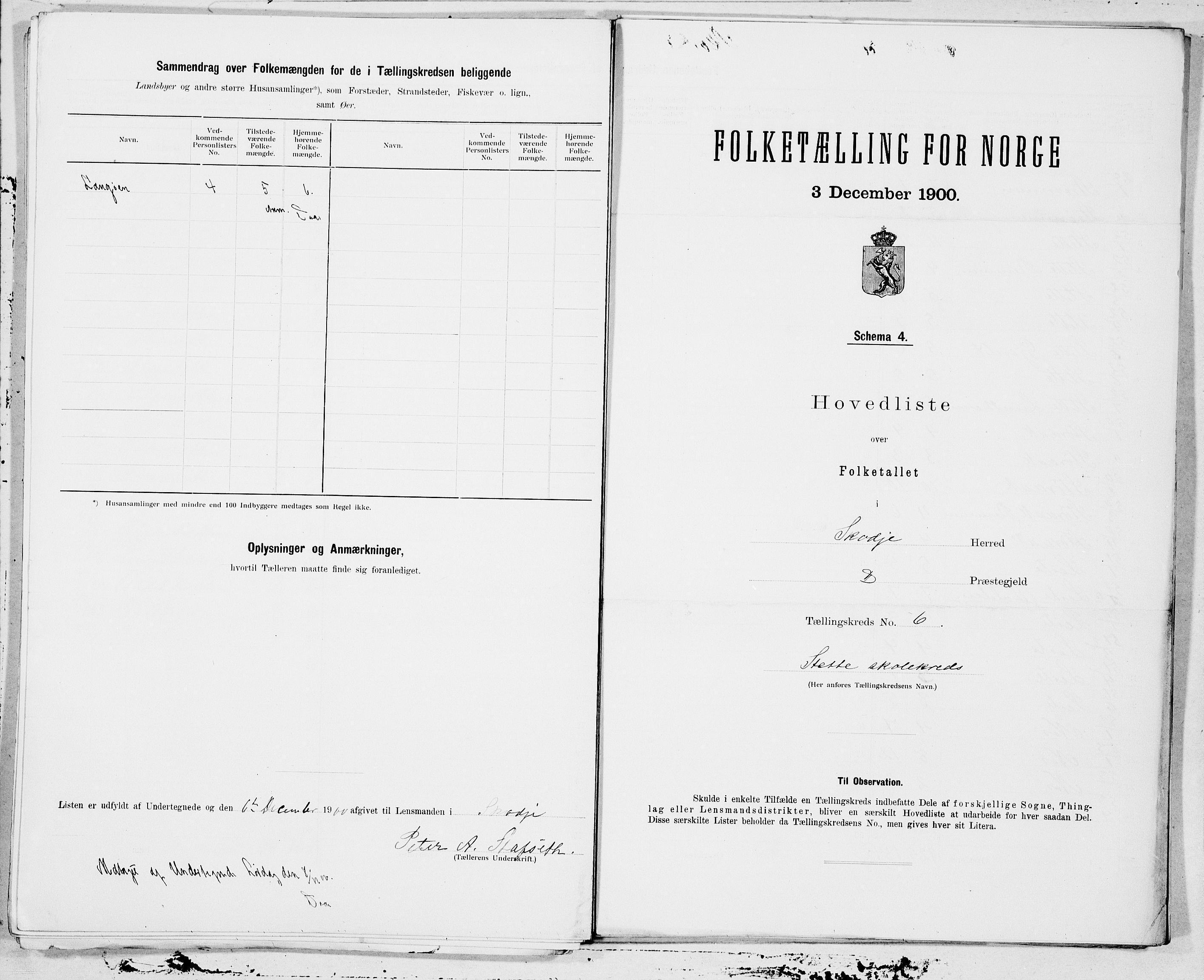 SAT, Folketelling 1900 for 1529 Skodje herred, 1900, s. 12