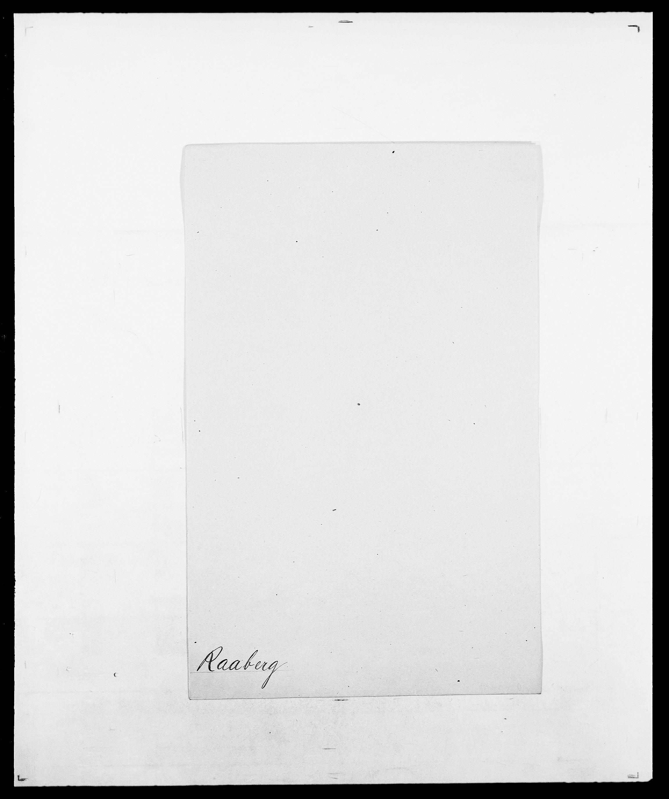 SAO, Delgobe, Charles Antoine - samling, D/Da/L0031: de Place - Raaum, s. 526