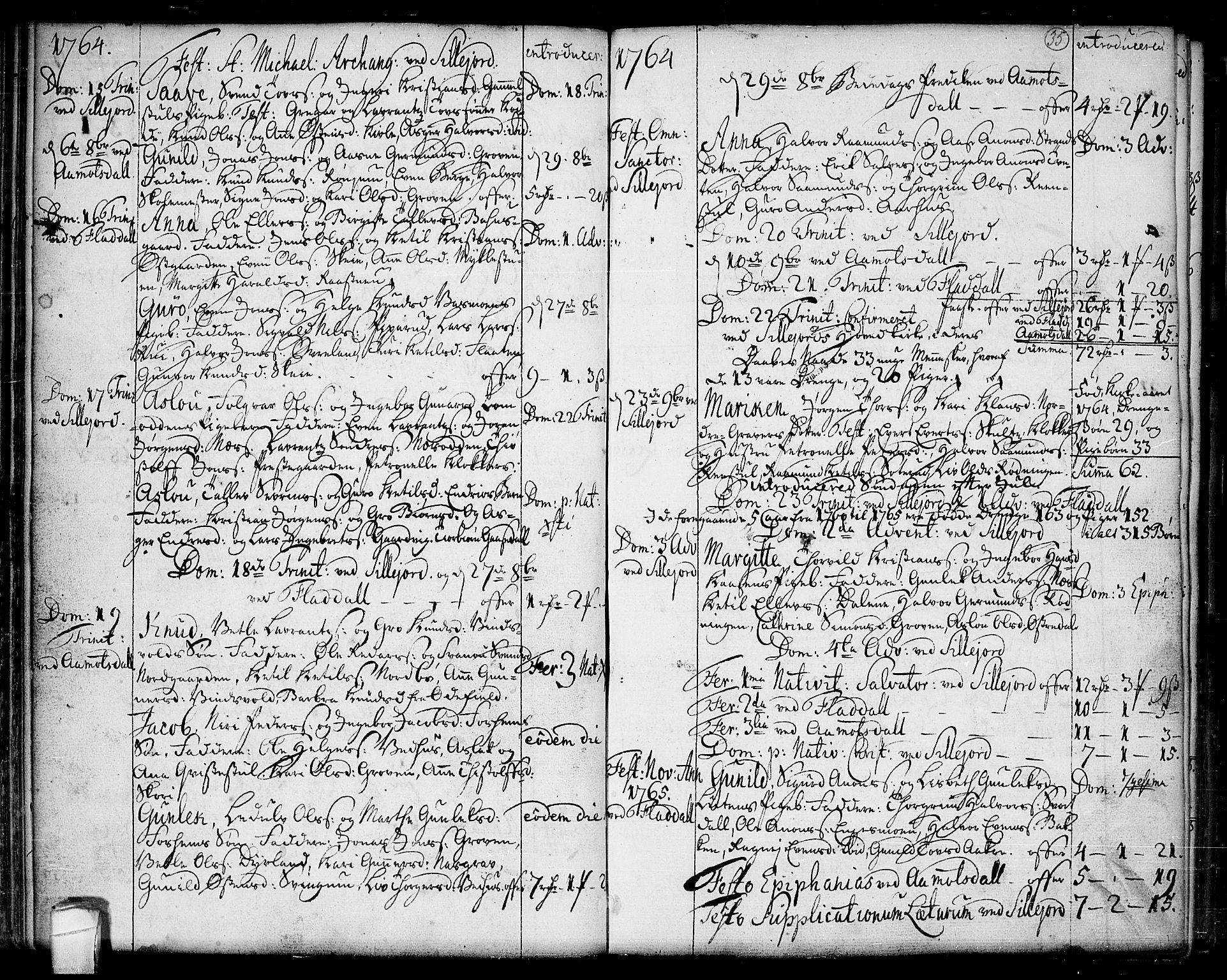 SAKO, Seljord kirkebøker, F/Fa/L0007: Ministerialbok nr. I 7, 1755-1800, s. 35