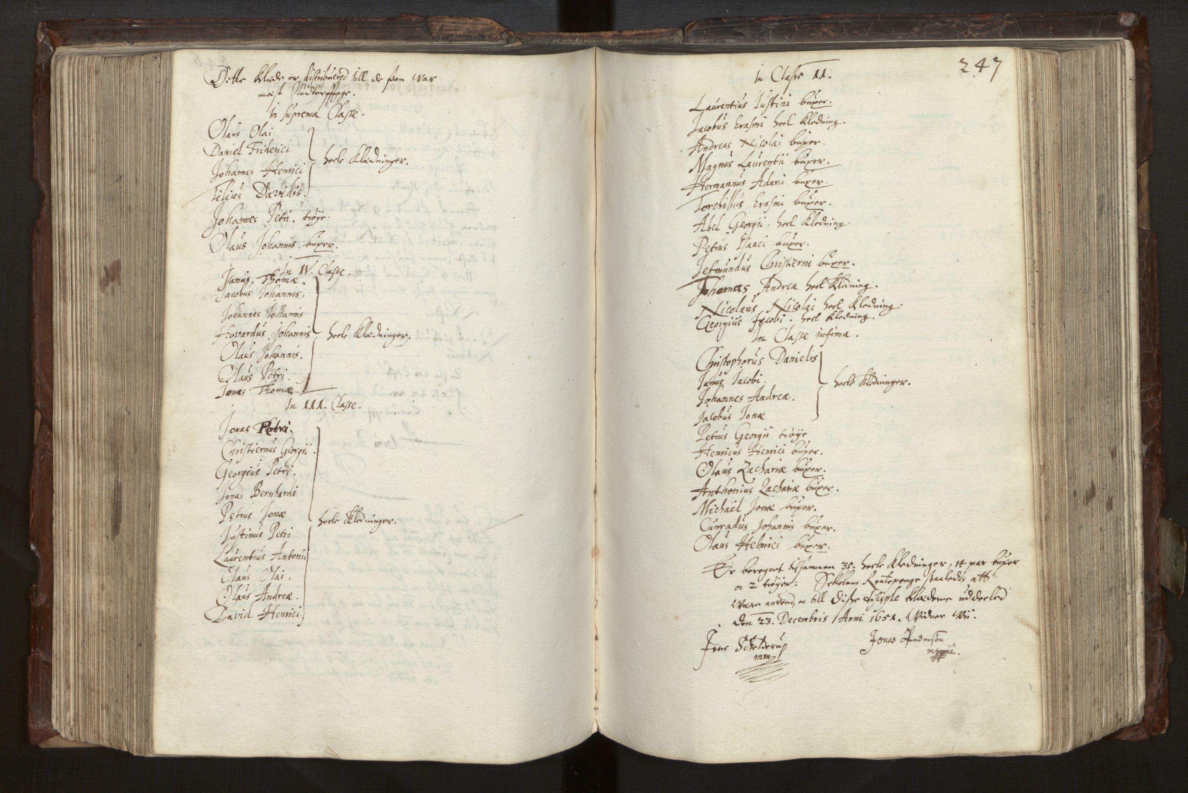 SAB, Bjørgvin biskop, Ga/L0014: Jordebøker for geistleg gods og andre rekneskapsprotokollar, 1609-1737, s. 246b-247a