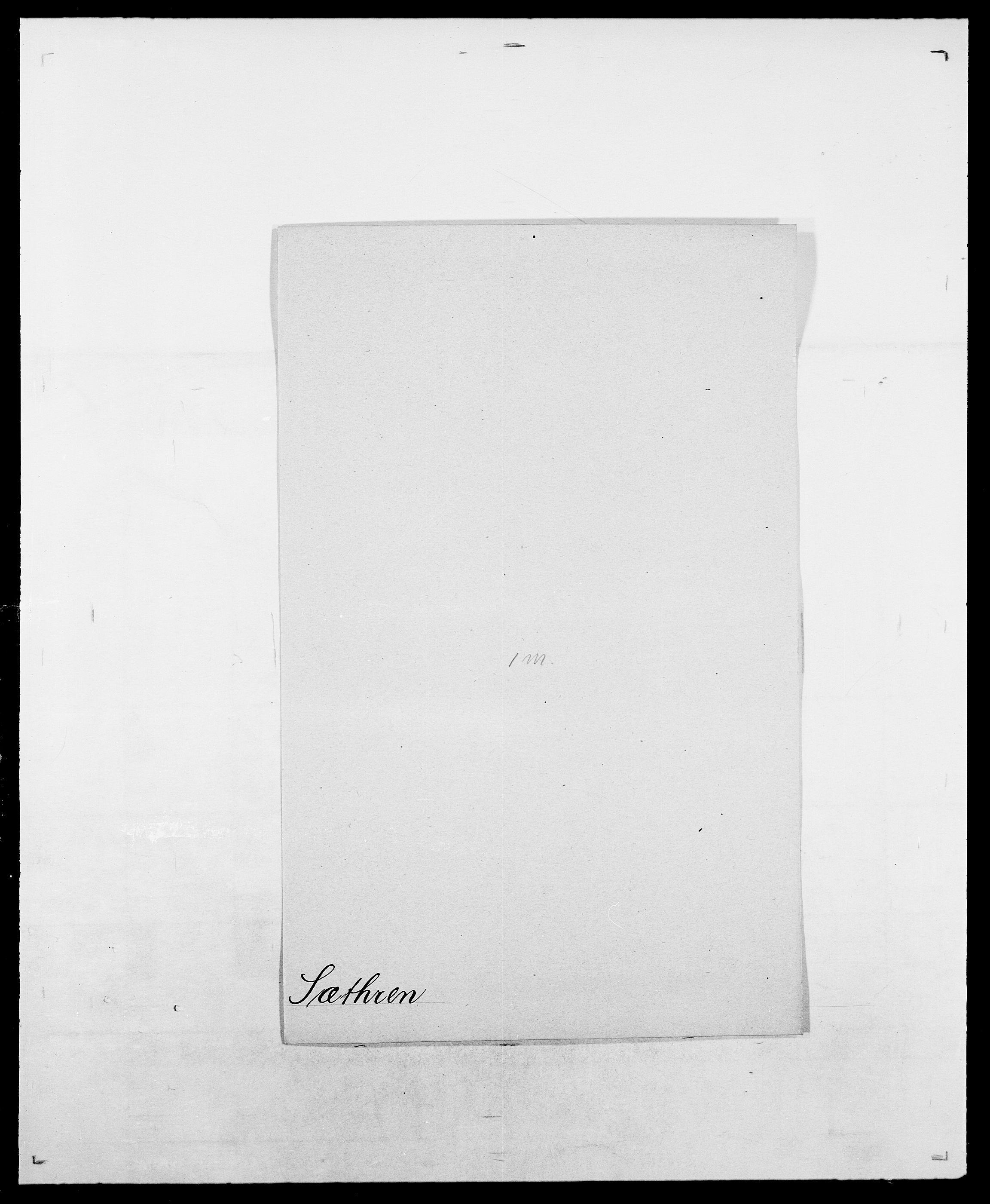 SAO, Delgobe, Charles Antoine - samling, D/Da/L0038: Svanenskjold - Thornsohn, s. 138