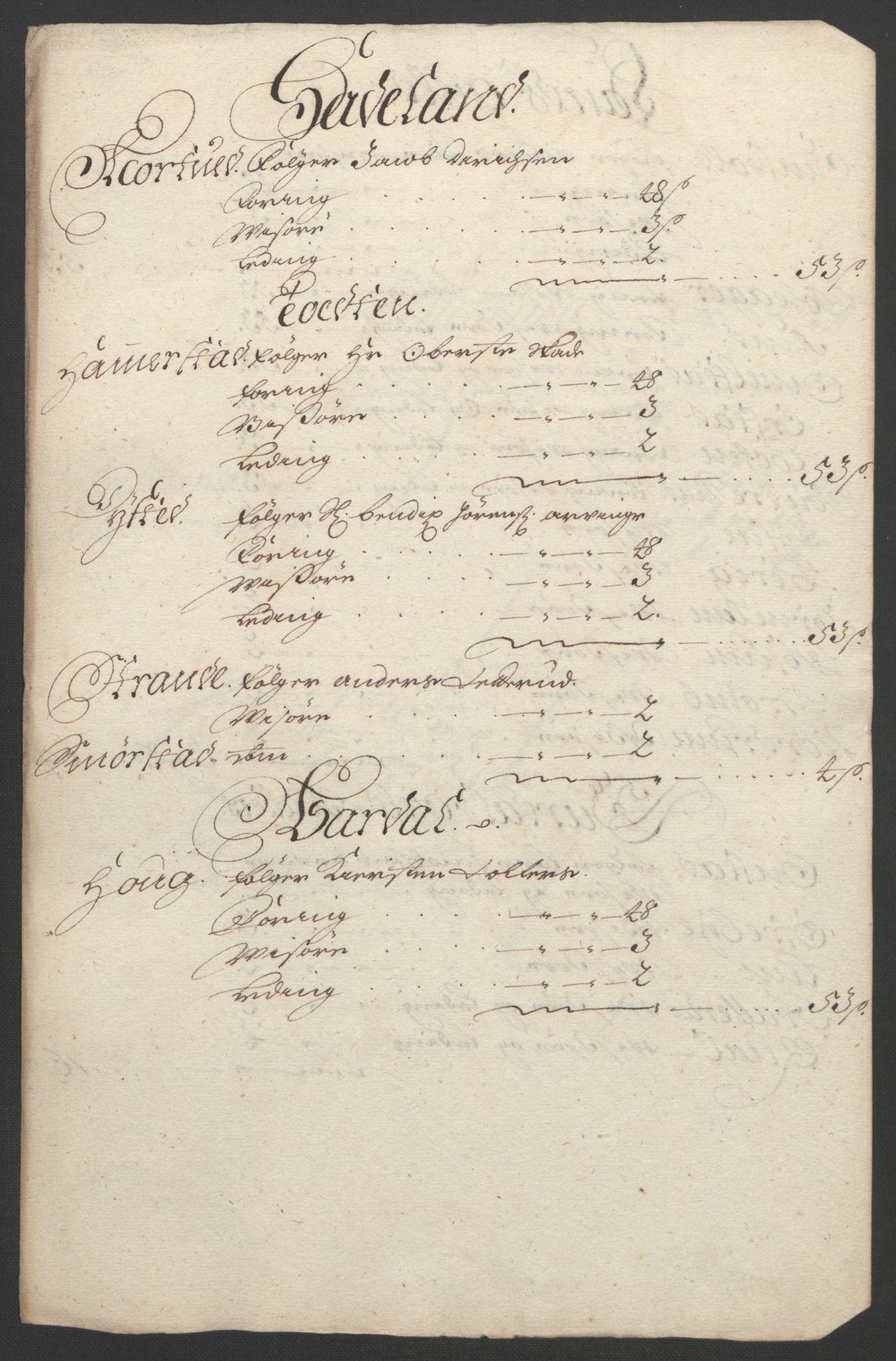 RA, Rentekammeret inntil 1814, Reviderte regnskaper, Fogderegnskap, R18/L1292: Fogderegnskap Hadeland, Toten og Valdres, 1693-1694, s. 161
