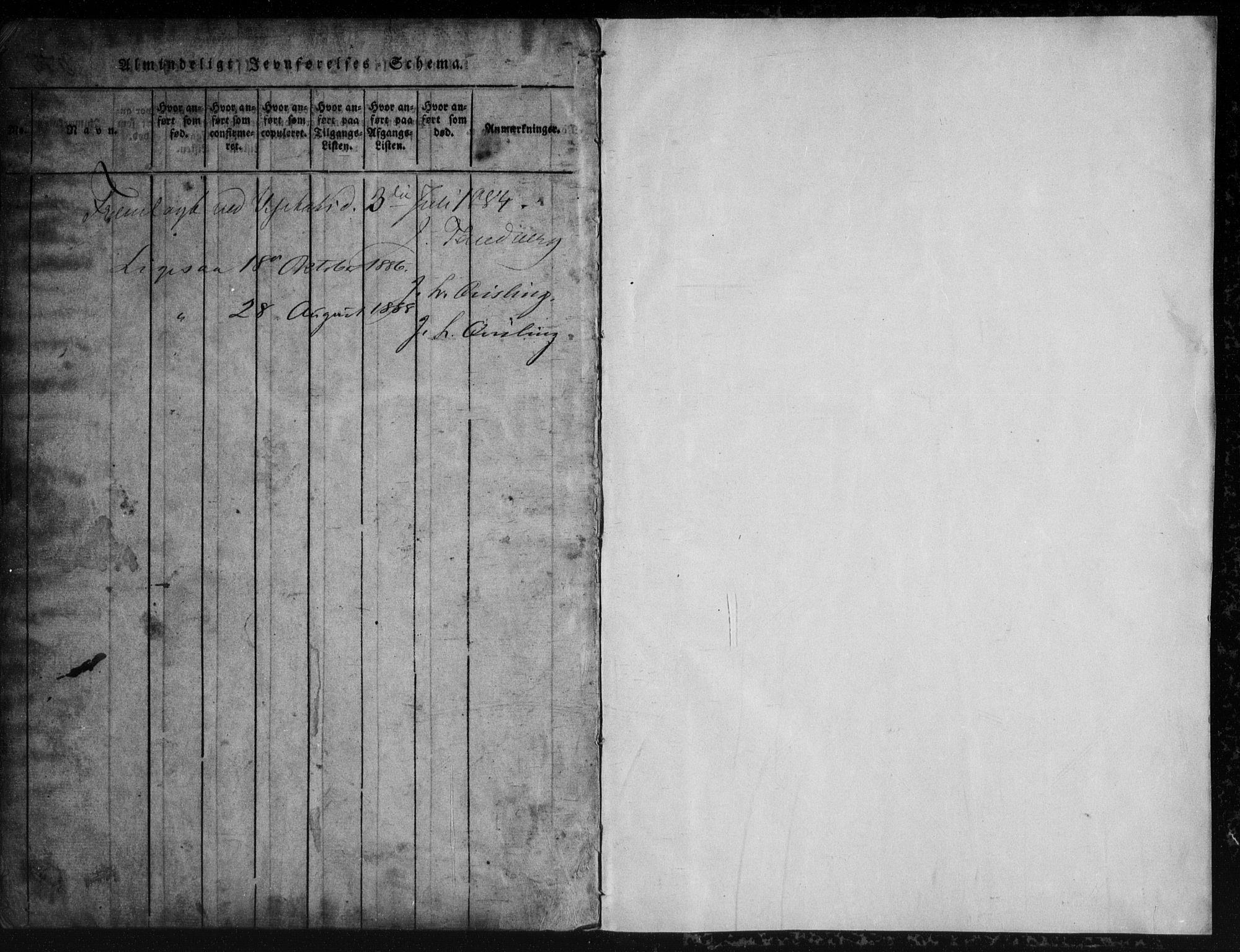 SAKO, Rauland kirkebøker, G/Gb/L0001: Klokkerbok nr. II 1, 1815-1886