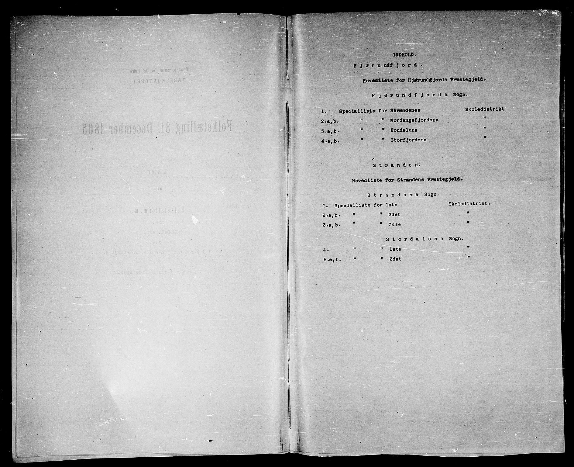 RA, Folketelling 1865 for 1522P Hjørundfjord prestegjeld, 1865, s. 4