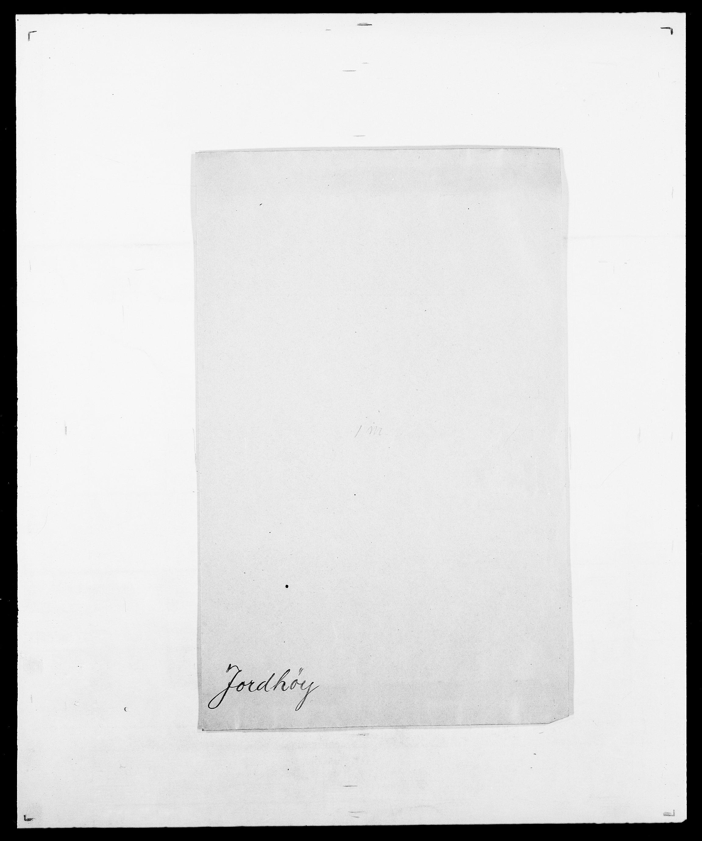 SAO, Delgobe, Charles Antoine - samling, D/Da/L0019: van der Hude - Joys, s. 914