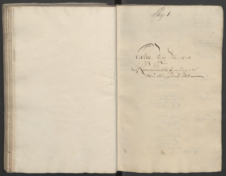 RA, Rentekammeret inntil 1814, Reviderte regnskaper, Fogderegnskap, R16/L1148: Ekstraskatten Hedmark, 1764, s. 217