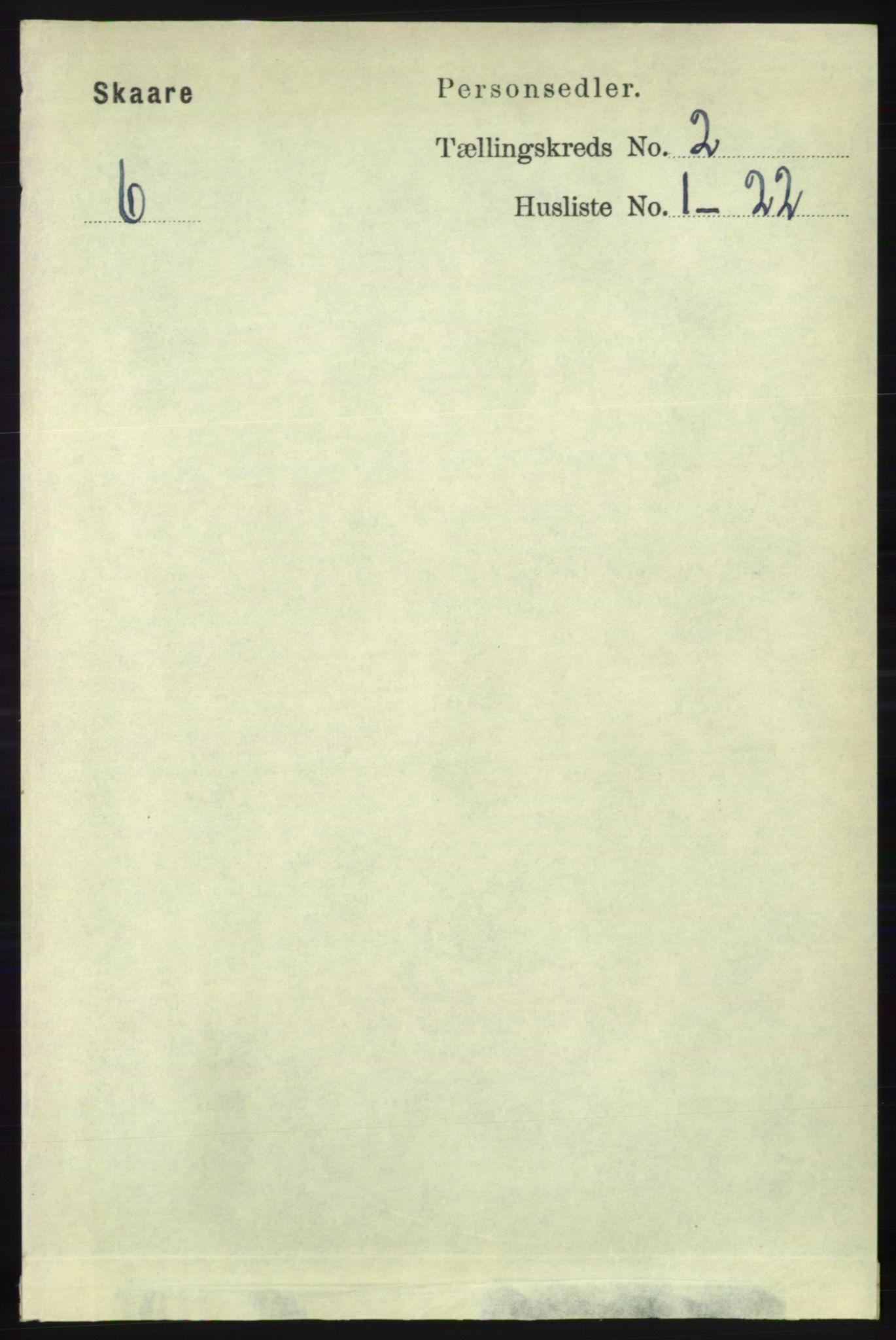 RA, Folketelling 1891 for 1153 Skåre herred, 1891, s. 732