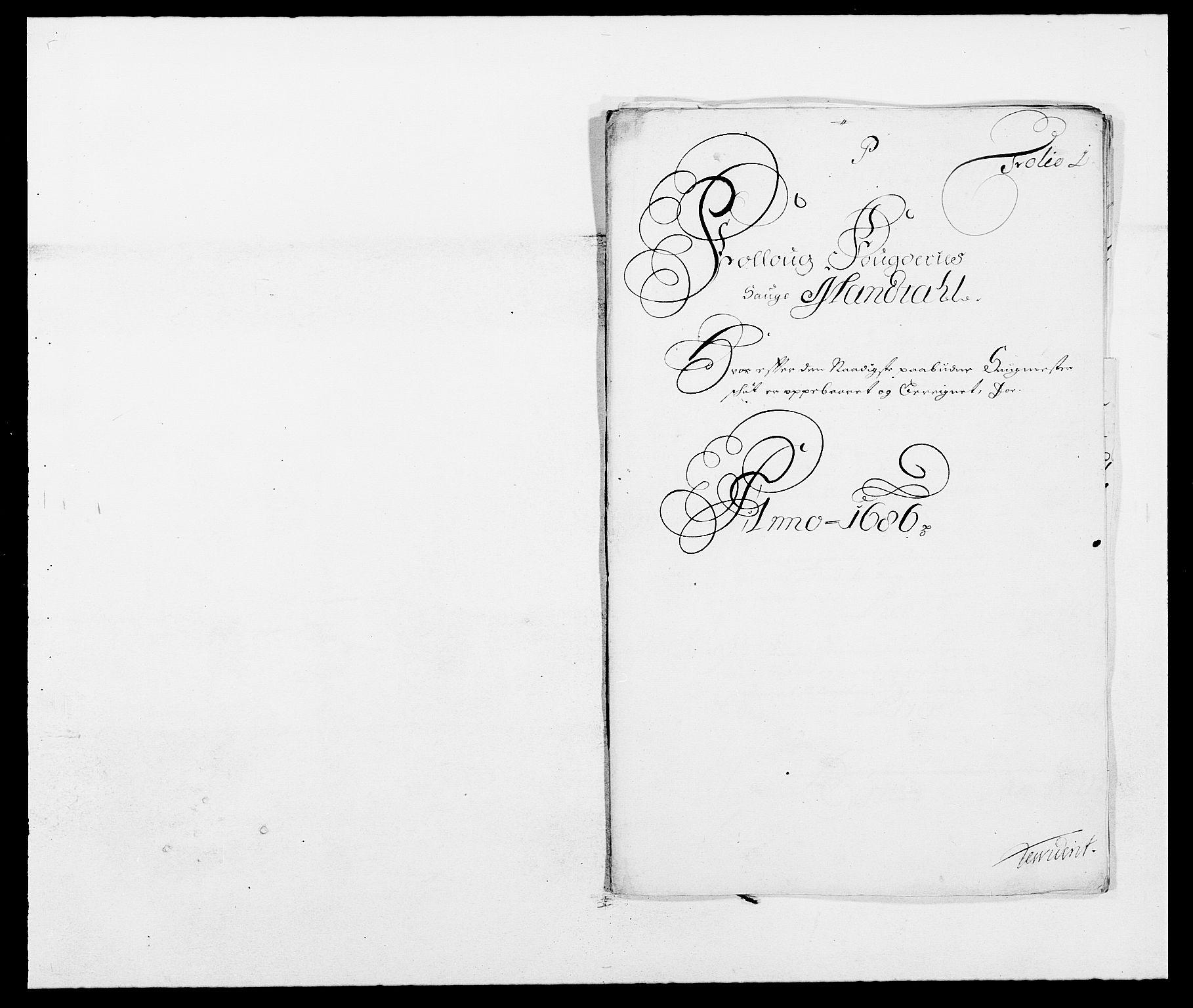 RA, Rentekammeret inntil 1814, Reviderte regnskaper, Fogderegnskap, R09/L0433: Fogderegnskap Follo, 1685-1686, s. 407