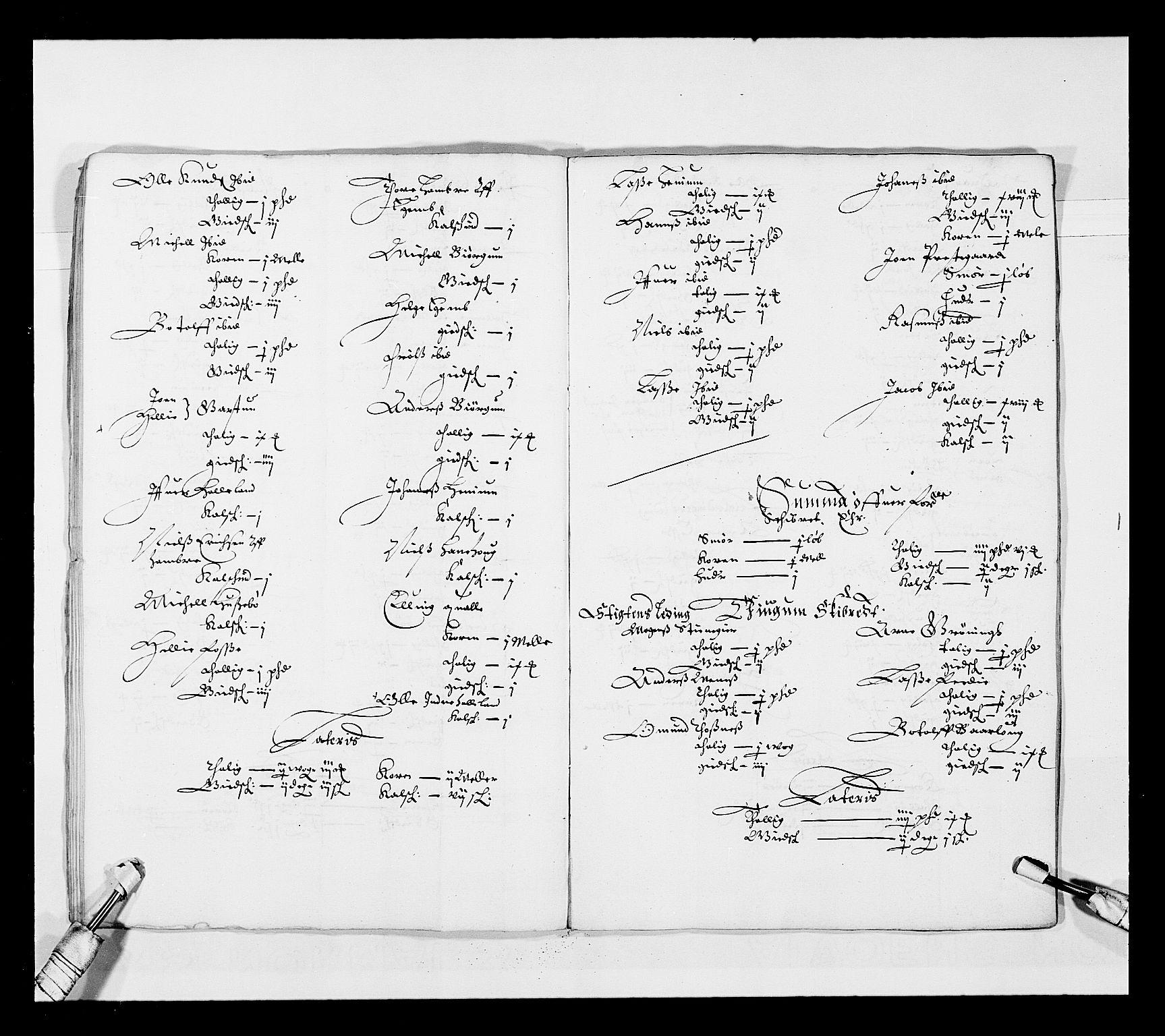 RA, Stattholderembetet 1572-1771, Ek/L0025: Jordebøker 1633-1658:, 1645-1646, s. 125