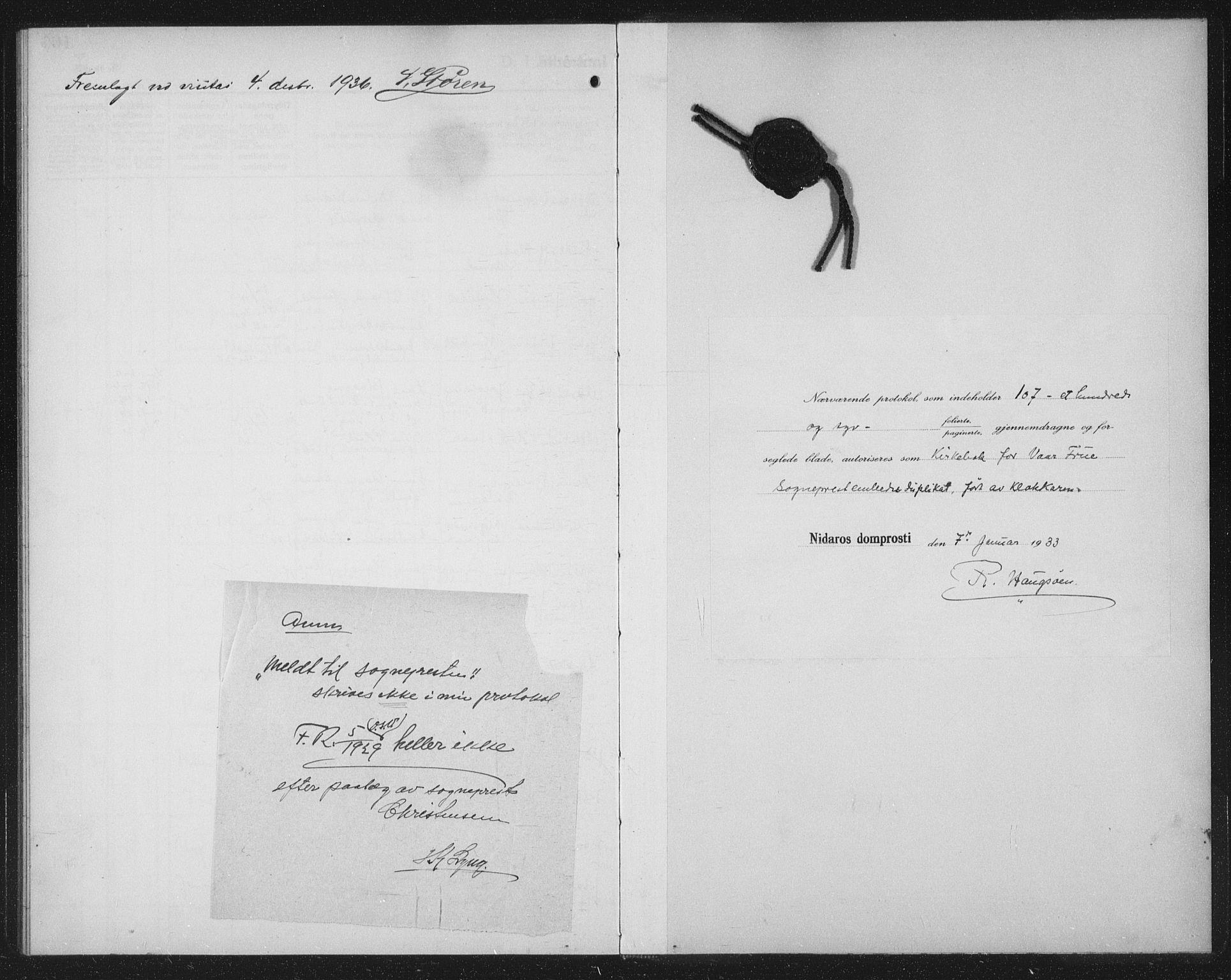SAT, Ministerialprotokoller, klokkerbøker og fødselsregistre - Sør-Trøndelag, 602/L0152: Klokkerbok nr. 602C20, 1933-1940