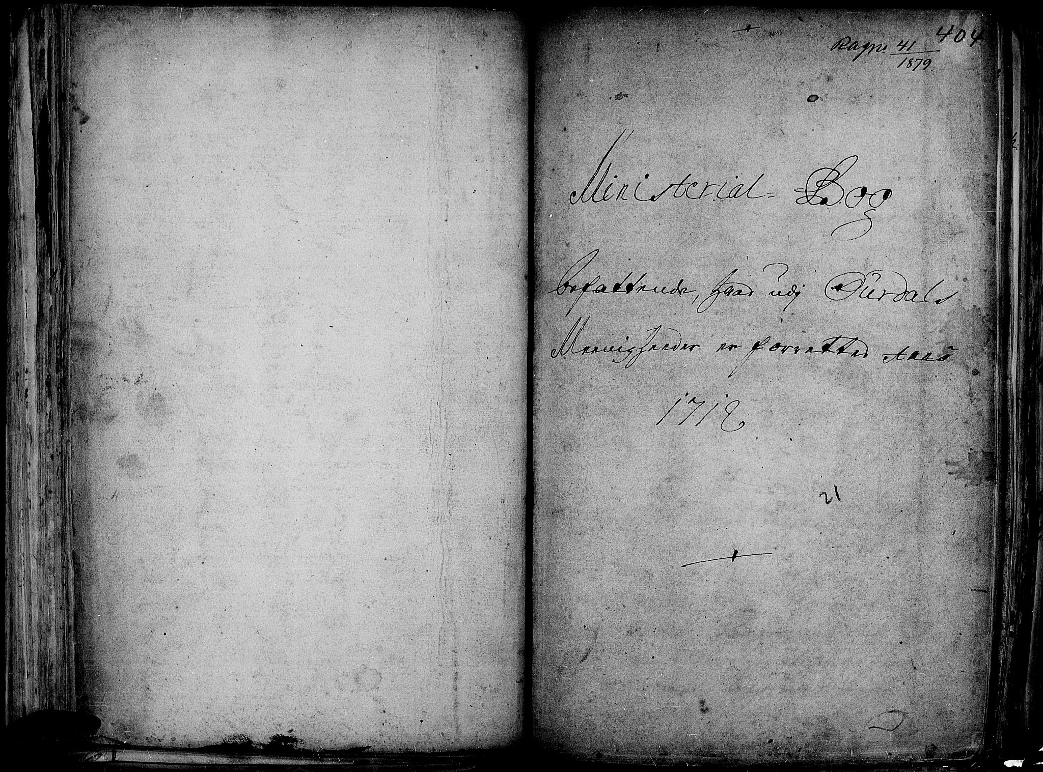 SAH, Aurdal prestekontor, Ministerialbok nr. 1-3, 1692-1730, s. 404
