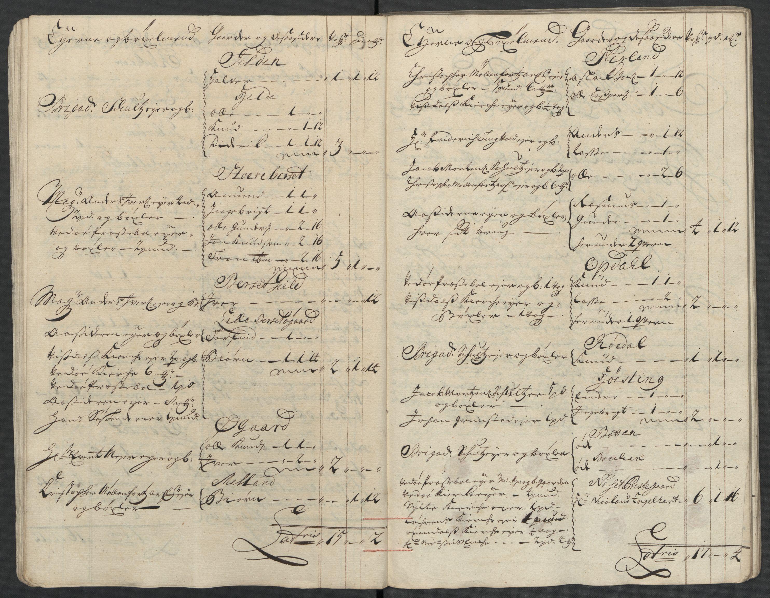 RA, Rentekammeret inntil 1814, Reviderte regnskaper, Fogderegnskap, R55/L3658: Fogderegnskap Romsdal, 1707-1708, s. 203