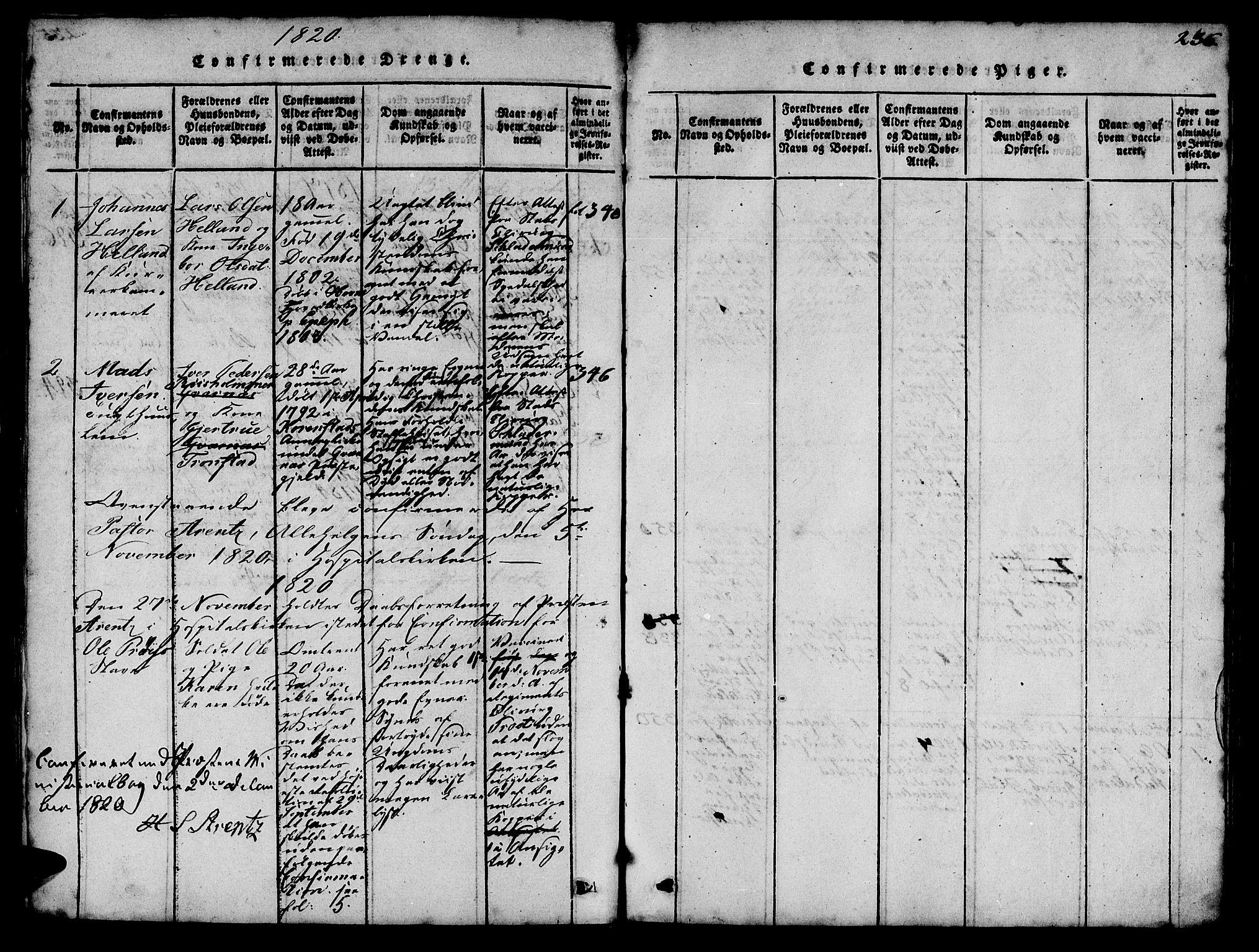 SAT, Ministerialprotokoller, klokkerbøker og fødselsregistre - Sør-Trøndelag, 623/L0478: Klokkerbok nr. 623C01, 1815-1873, s. 236
