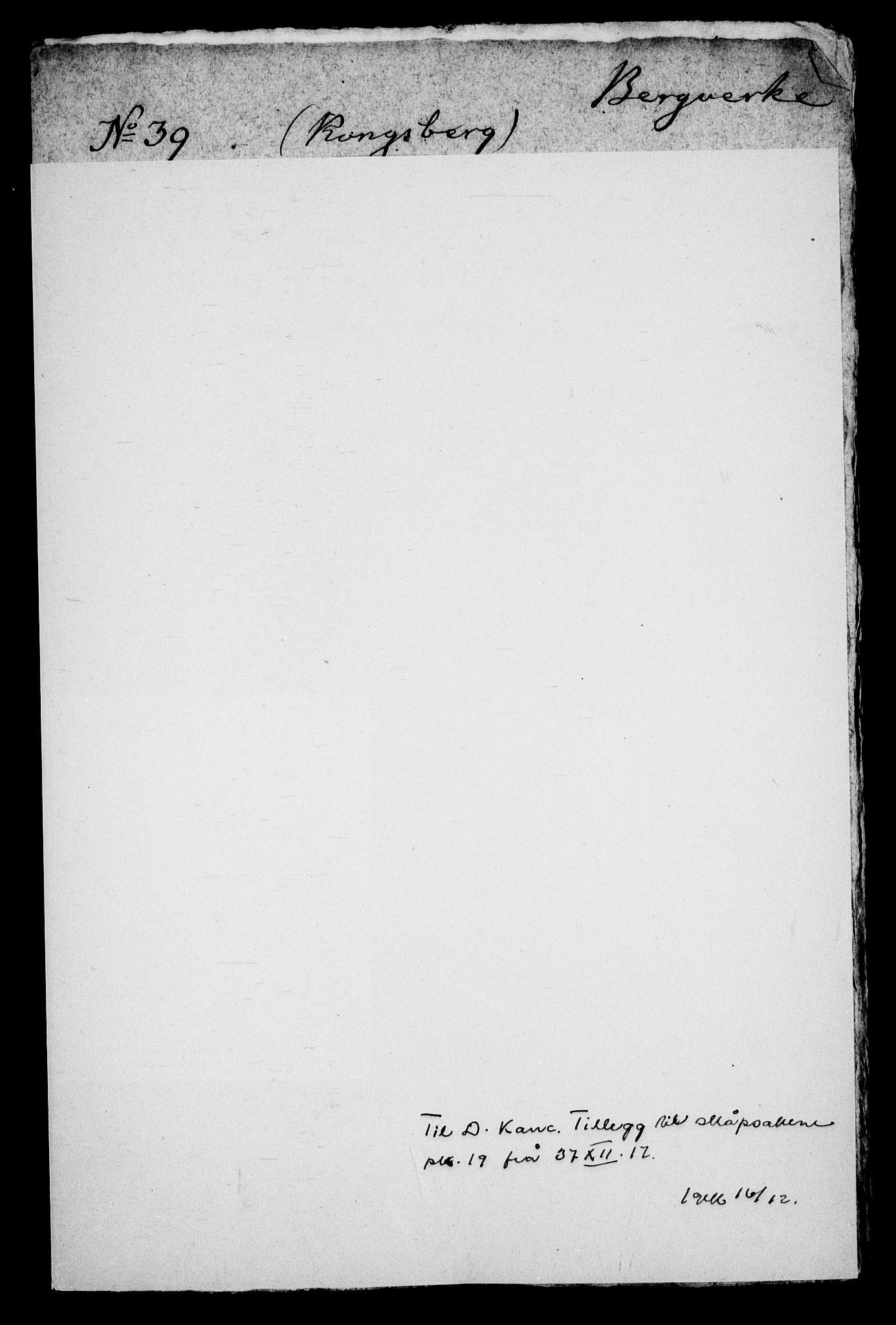 RA, Danske Kanselli, Skapsaker, G/L0019: Tillegg til skapsakene, 1616-1753, s. 158