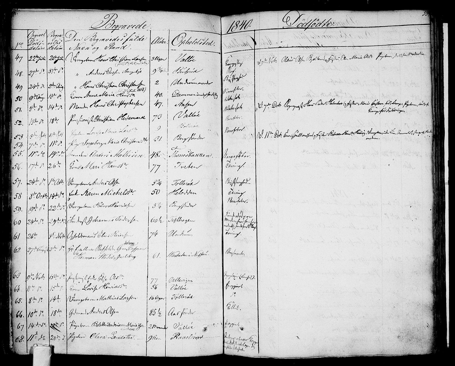 SAKO, Sem kirkebøker, F/Fa/L0005: Ministerialbok nr. I 5, 1825-1842, s. 538-539