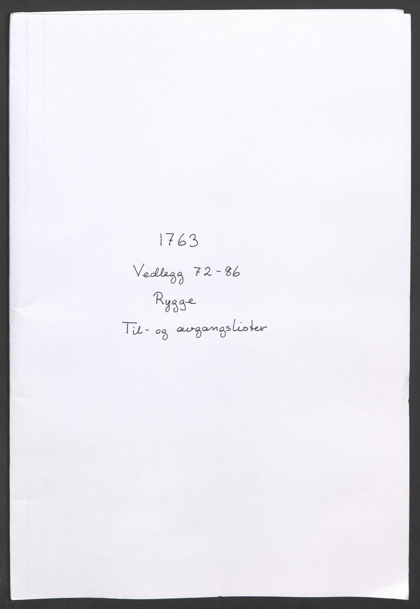 RA, Rentekammeret inntil 1814, Reviderte regnskaper, Fogderegnskap, R04/L0261: Ekstraskatten Moss, Onsøy, Tune, Veme og Åbygge, 1763, s. 195