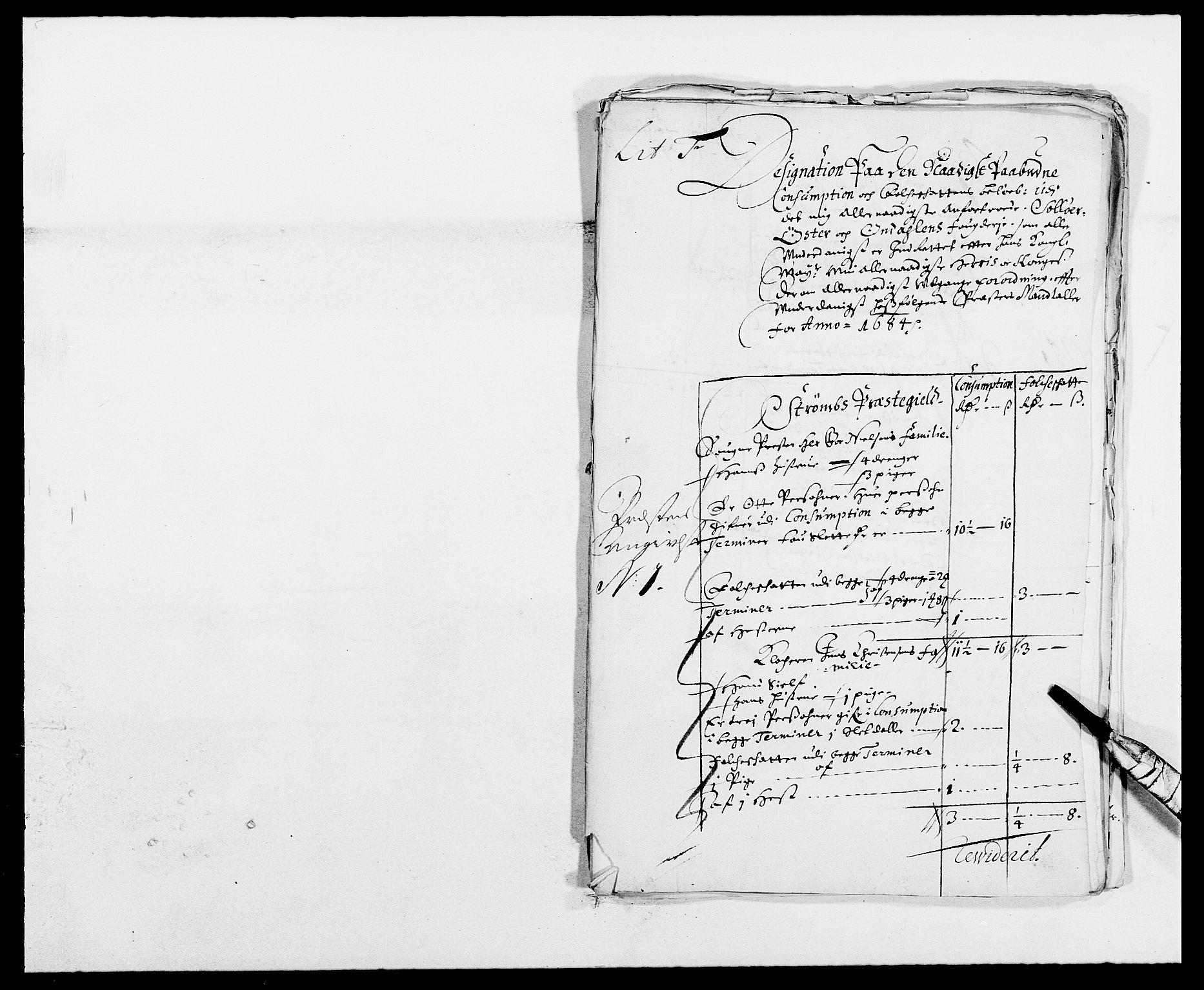 RA, Rentekammeret inntil 1814, Reviderte regnskaper, Fogderegnskap, R13/L0821: Fogderegnskap Solør, Odal og Østerdal, 1684, s. 220
