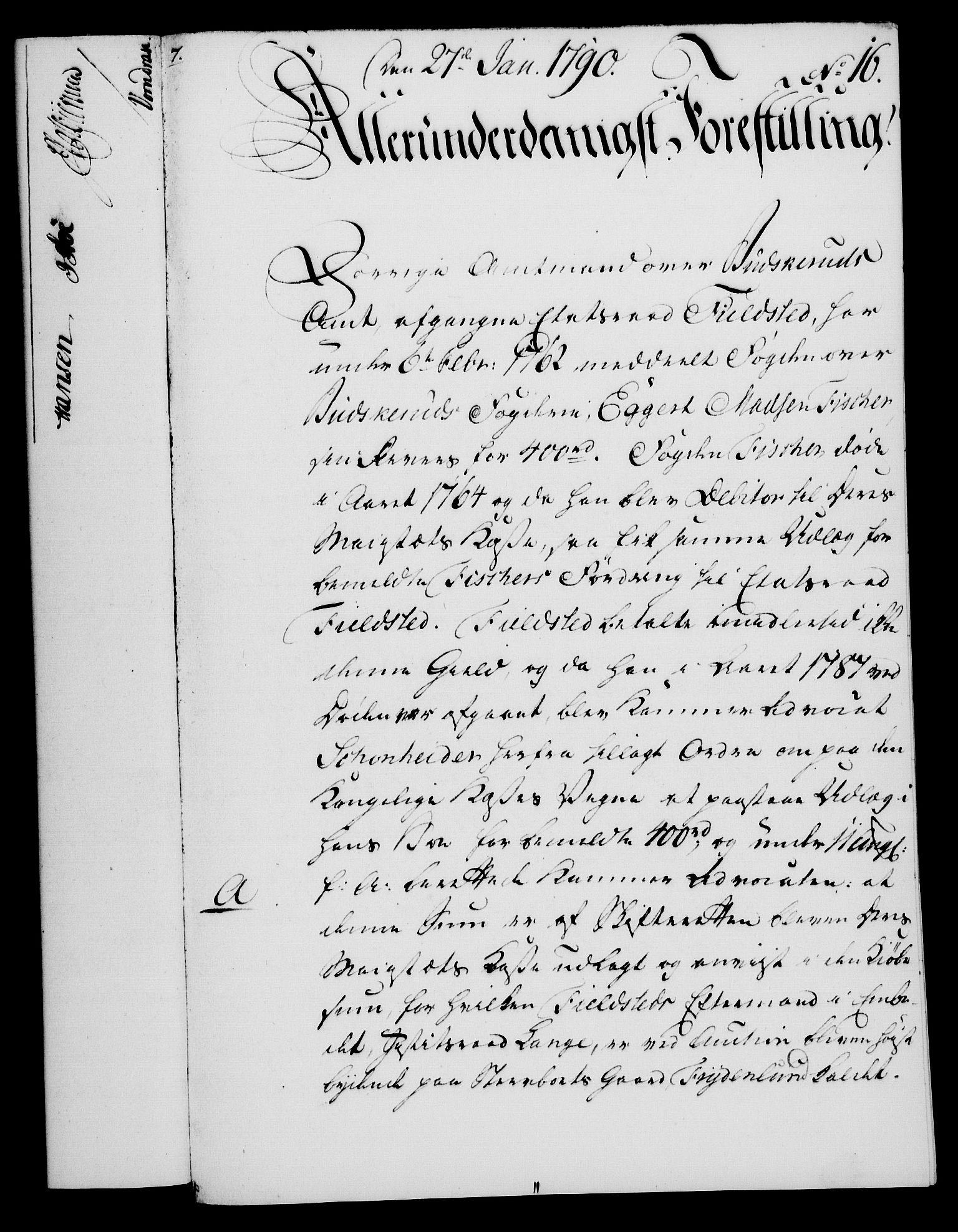 RA, Rentekammeret, Kammerkanselliet, G/Gf/Gfa/L0072: Norsk relasjons- og resolusjonsprotokoll (merket RK 52.72), 1790, s. 105