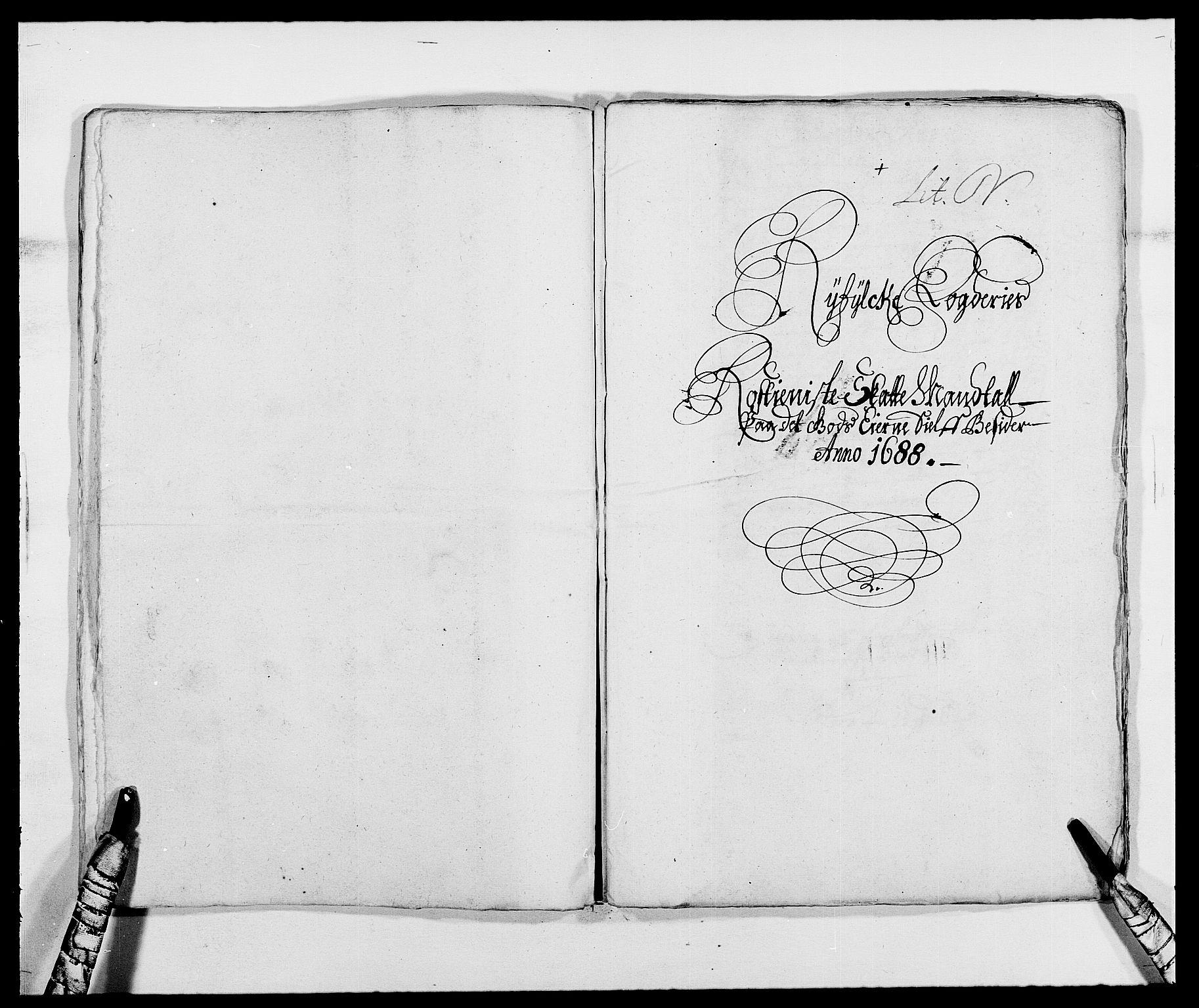 RA, Rentekammeret inntil 1814, Reviderte regnskaper, Fogderegnskap, R47/L2855: Fogderegnskap Ryfylke, 1685-1688, s. 422