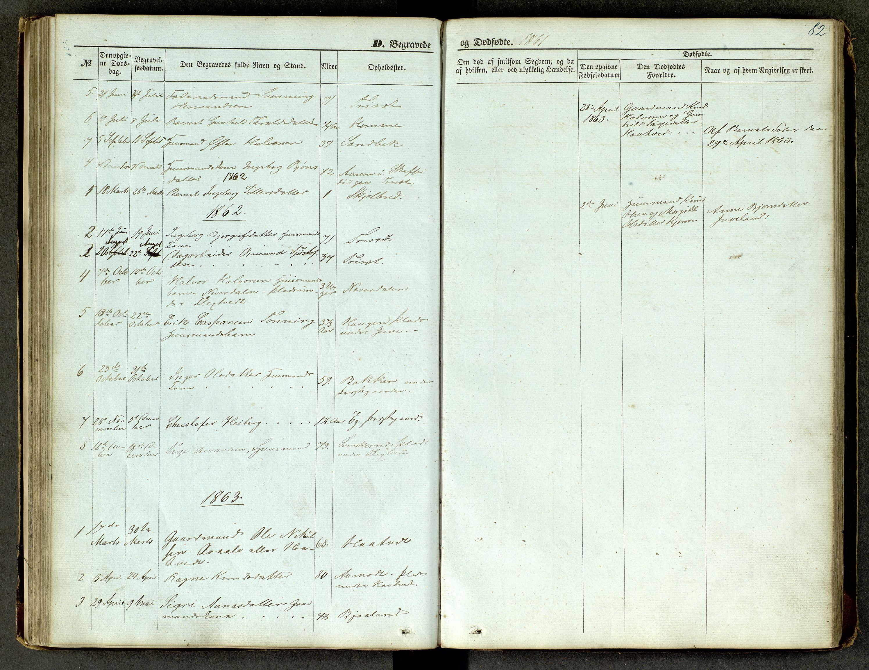 SAKO, Lårdal kirkebøker, G/Ga/L0002: Klokkerbok nr. I 2, 1861-1890, s. 82