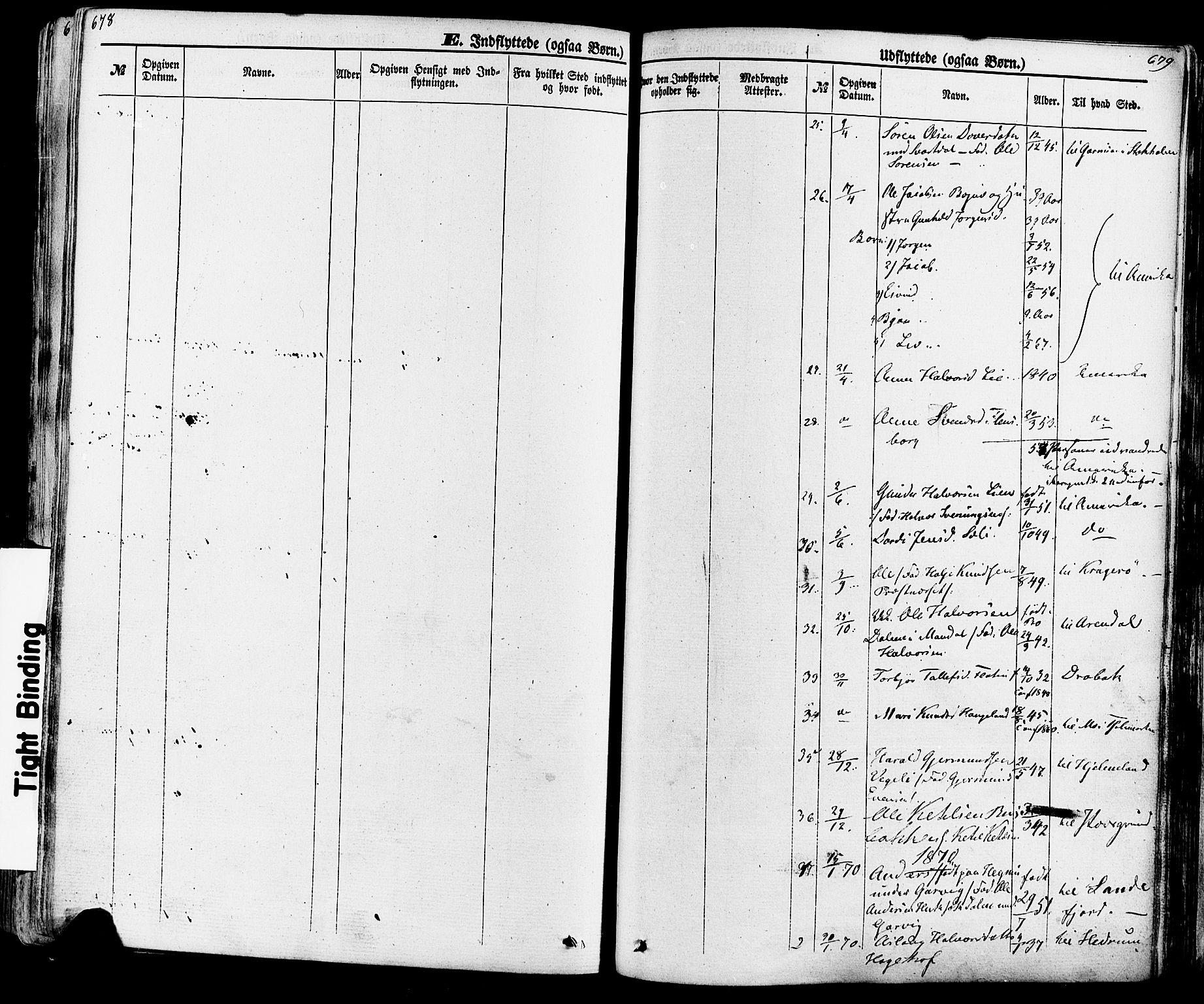 SAKO, Seljord kirkebøker, F/Fa/L0013: Ministerialbok nr. I 13, 1866-1876, s. 678-679