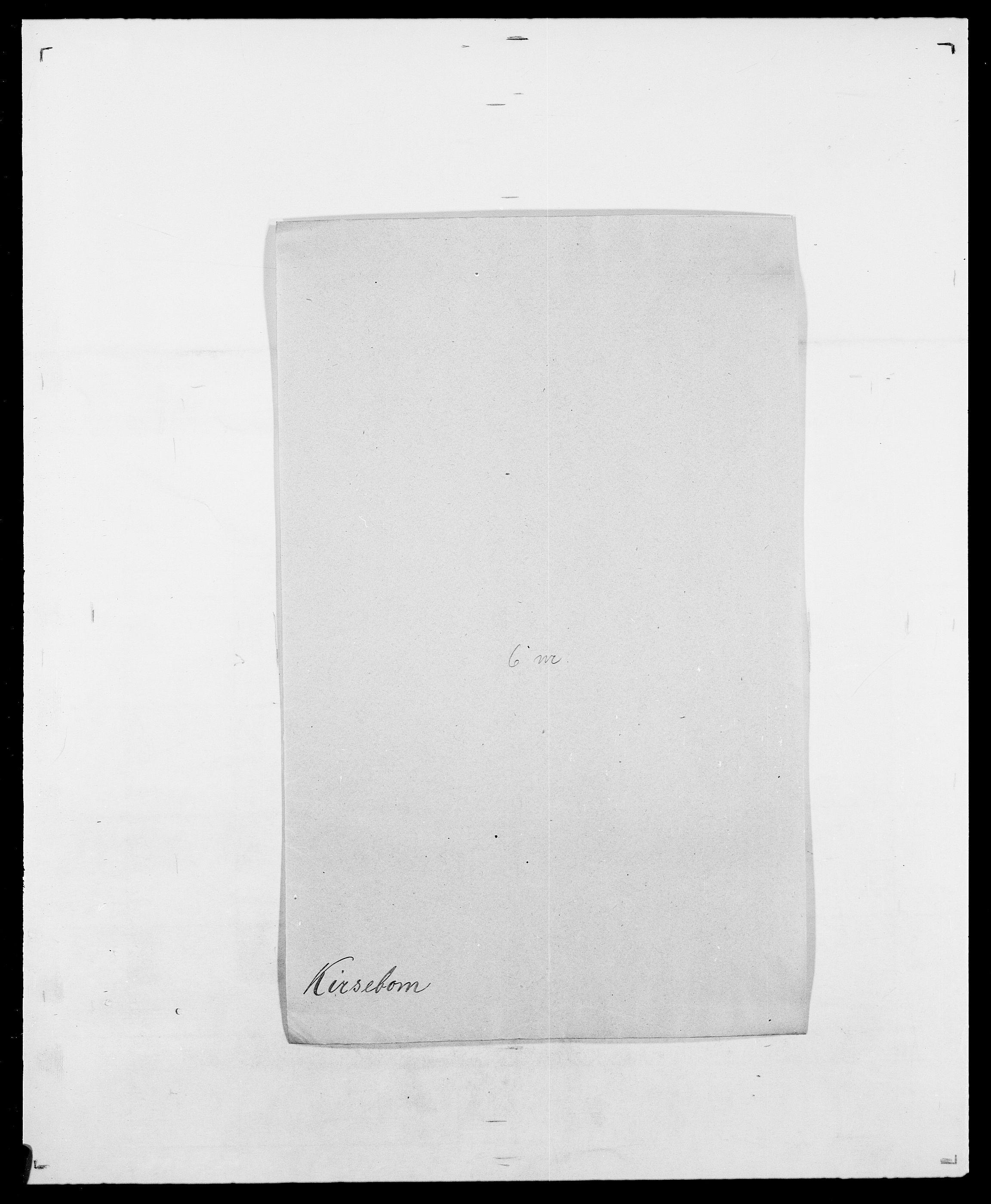 SAO, Delgobe, Charles Antoine - samling, D/Da/L0020: Irgens - Kjøsterud, s. 657
