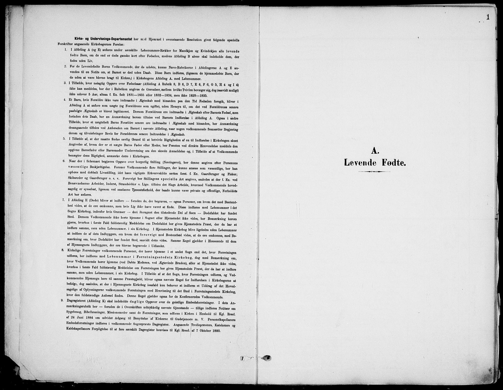 SAKO, Eidanger kirkebøker, F/Fa/L0013: Ministerialbok nr. 13, 1900-1913, s. 1