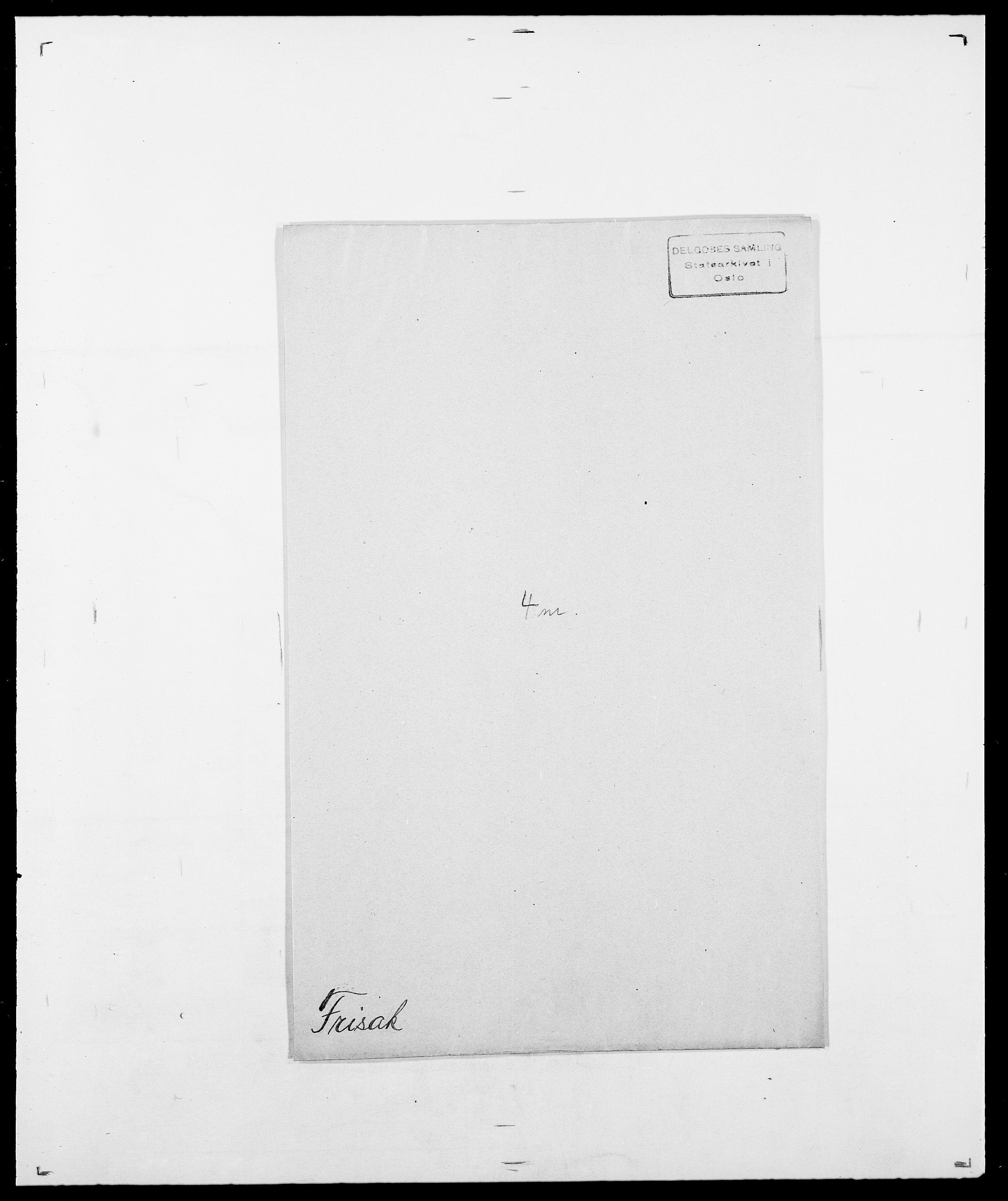 SAO, Delgobe, Charles Antoine - samling, D/Da/L0012: Flor, Floer, Flohr - Fritzner, s. 1022