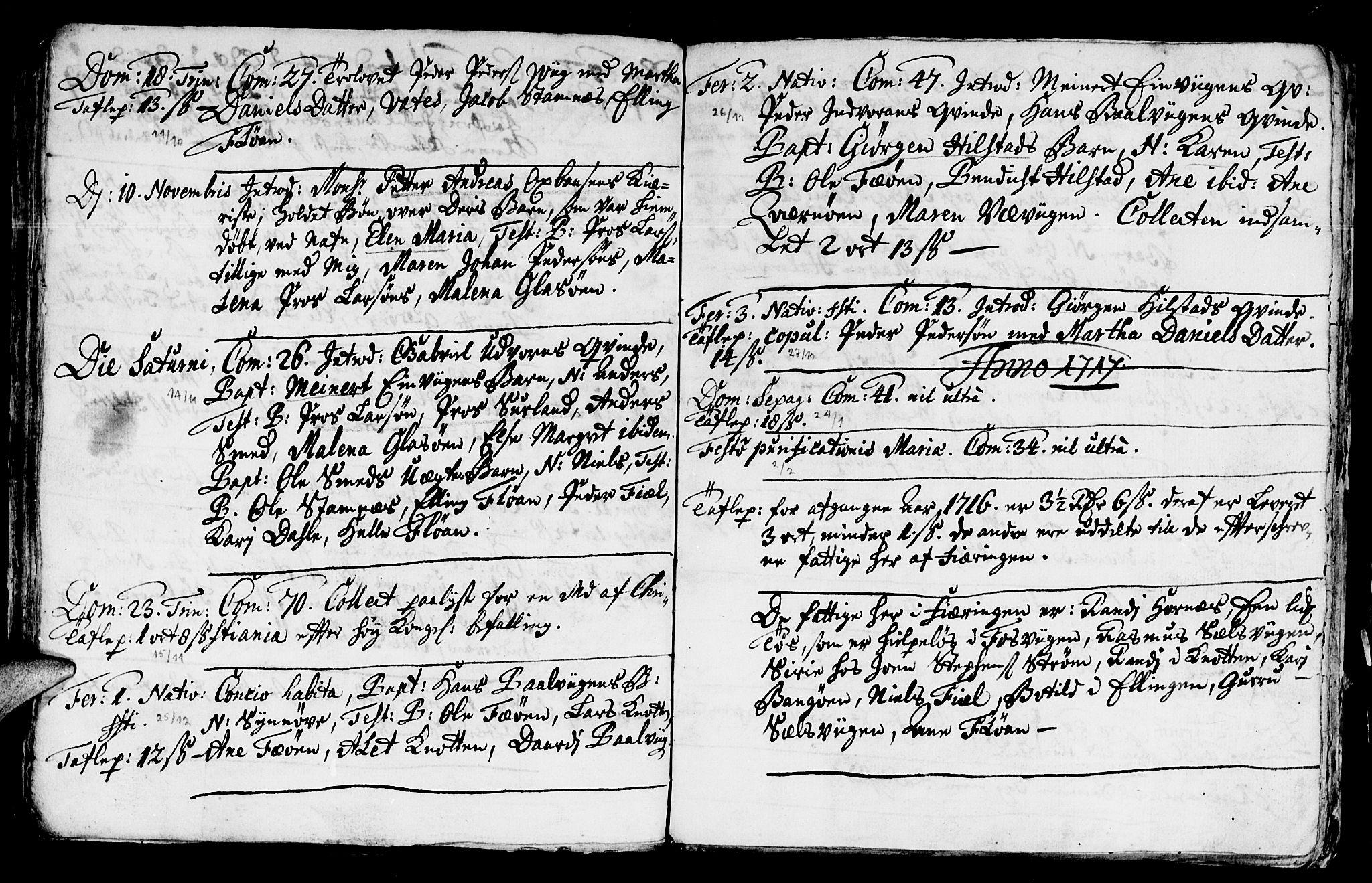 SAT, Ministerialprotokoller, klokkerbøker og fødselsregistre - Nord-Trøndelag, 771/L0594: Ministerialbok nr. 771A01, 1689-1738