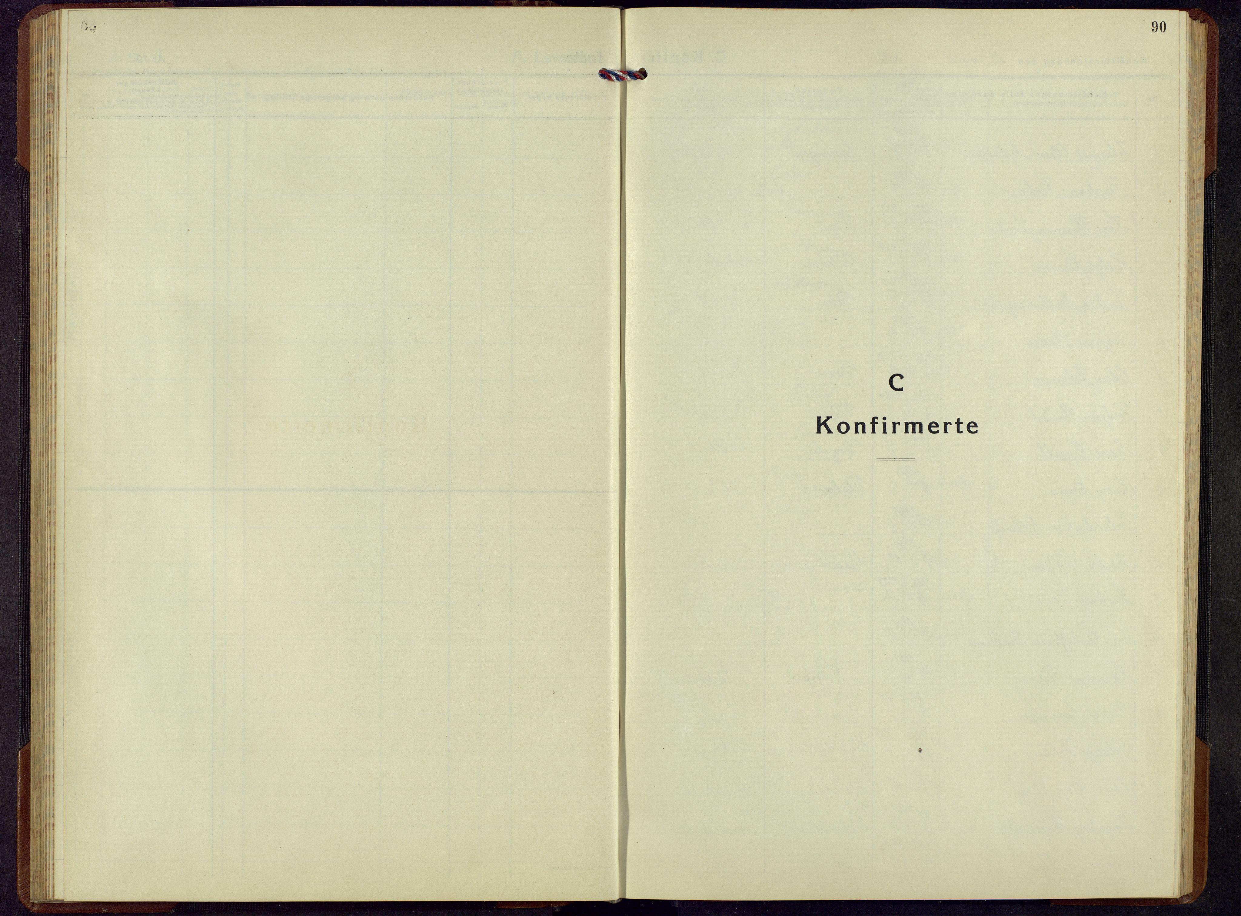 SAH, Ringebu prestekontor, Klokkerbok nr. 13, 1943-1956, s. 90