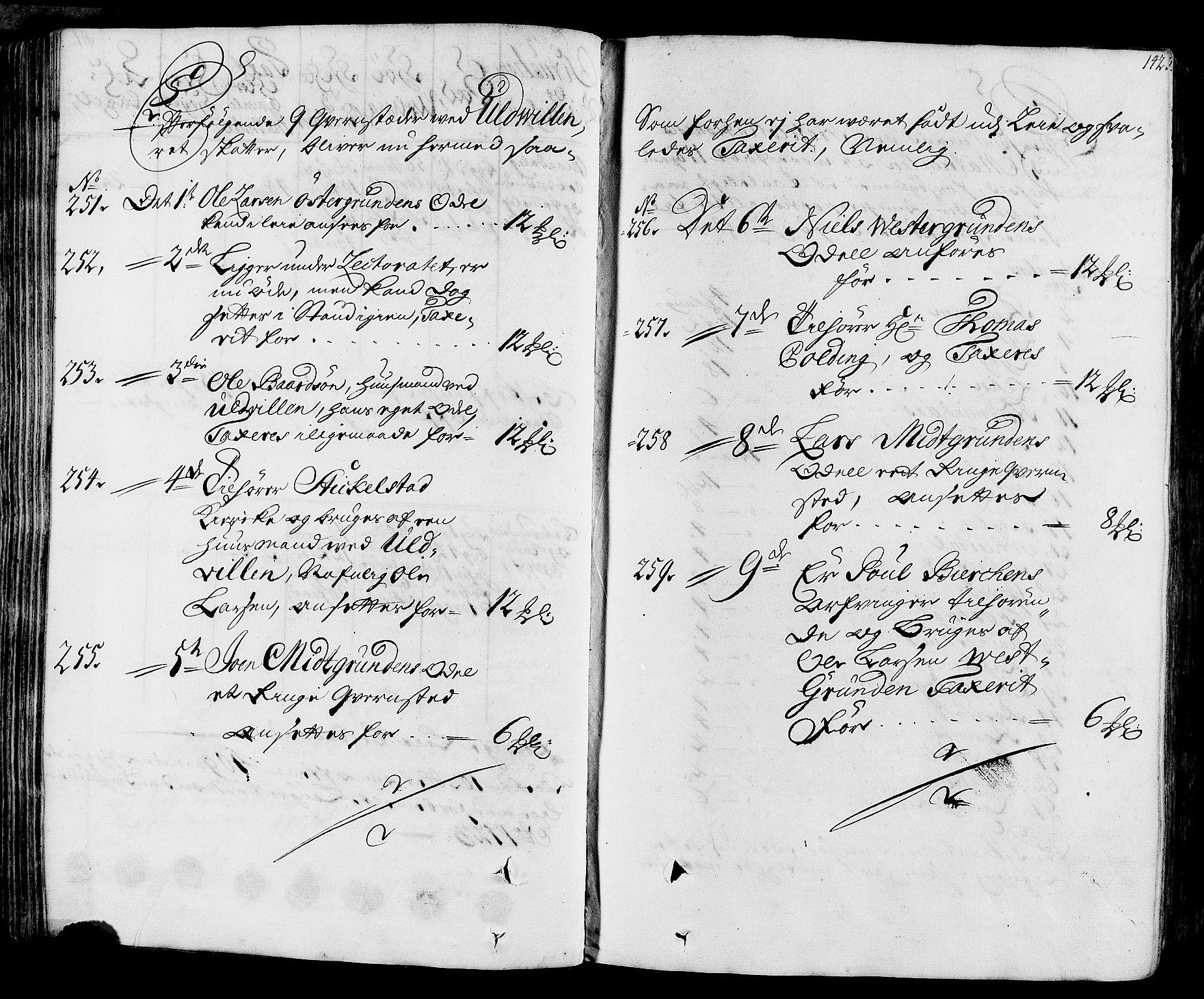 RA, Rentekammeret inntil 1814, Realistisk ordnet avdeling, N/Nb/Nbf/L0164: Stjørdal og Verdal eksaminasjonsprotokoll, 1723, s. 141b-142a