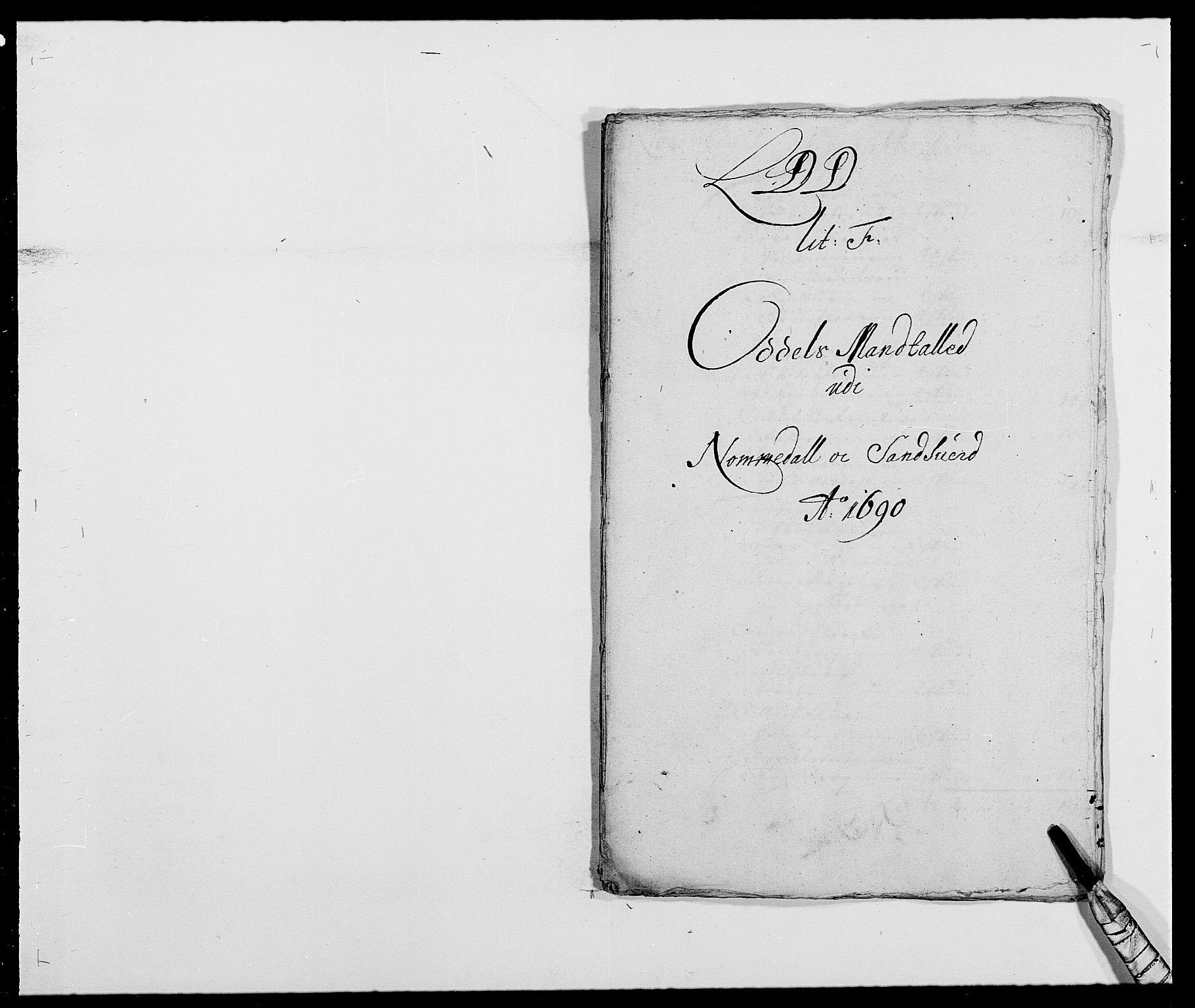 RA, Rentekammeret inntil 1814, Reviderte regnskaper, Fogderegnskap, R24/L1573: Fogderegnskap Numedal og Sandsvær, 1687-1691, s. 431