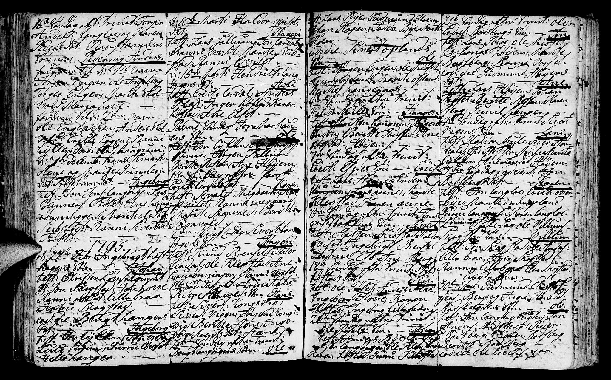 SAT, Ministerialprotokoller, klokkerbøker og fødselsregistre - Sør-Trøndelag, 612/L0370: Ministerialbok nr. 612A04, 1754-1802, s. 118