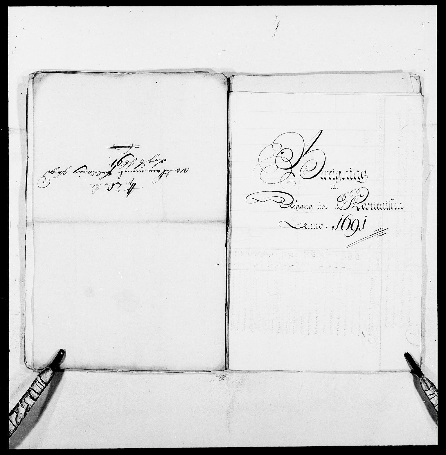 RA, Rentekammeret inntil 1814, Reviderte regnskaper, Fogderegnskap, R09/L0436: Fogderegnskap Follo, 1685-1691, s. 243