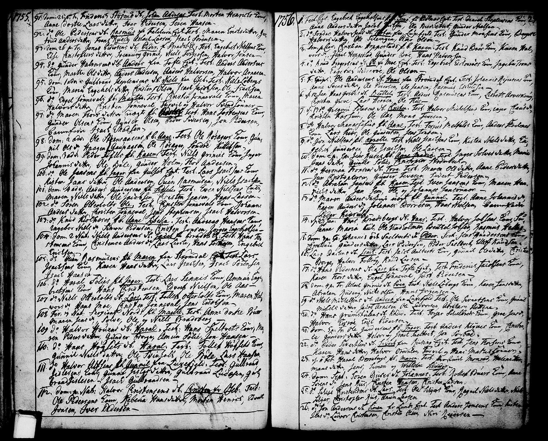SAKO, Gjerpen kirkebøker, F/Fa/L0002: Ministerialbok nr. 2, 1747-1795, s. 23