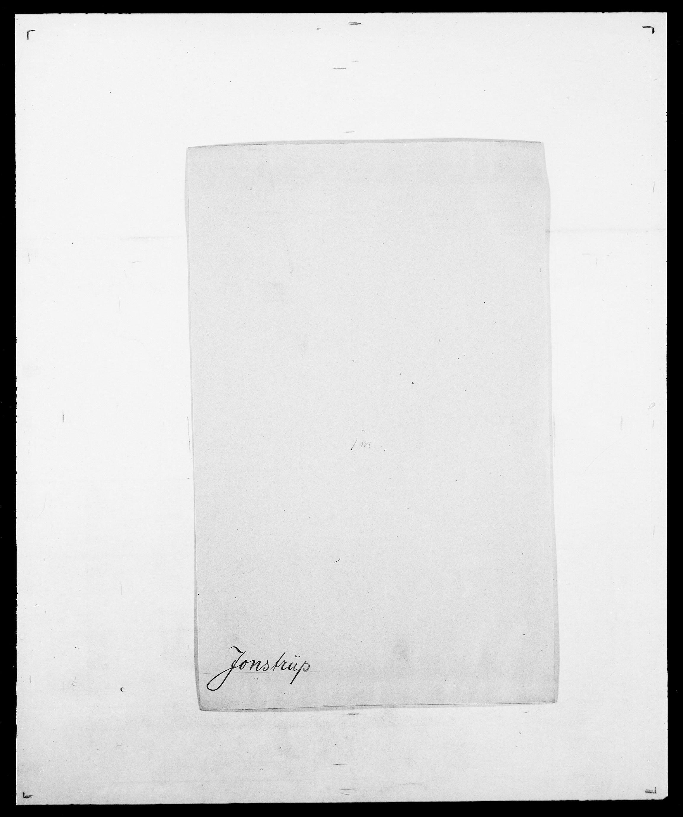 SAO, Delgobe, Charles Antoine - samling, D/Da/L0019: van der Hude - Joys, s. 885