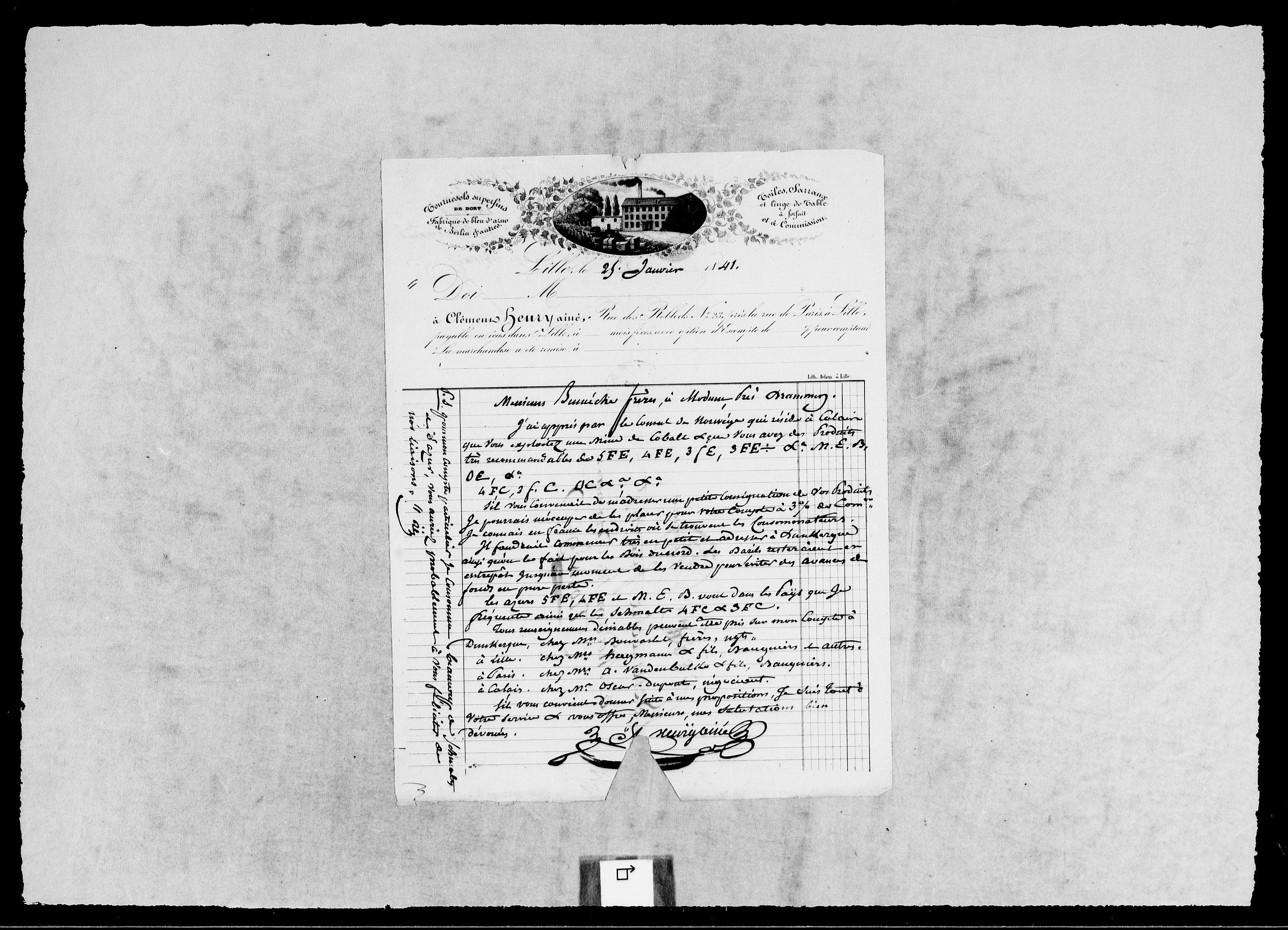 RA, Modums Blaafarveværk, G/Gb/L0125, 1840-1841, s. 2