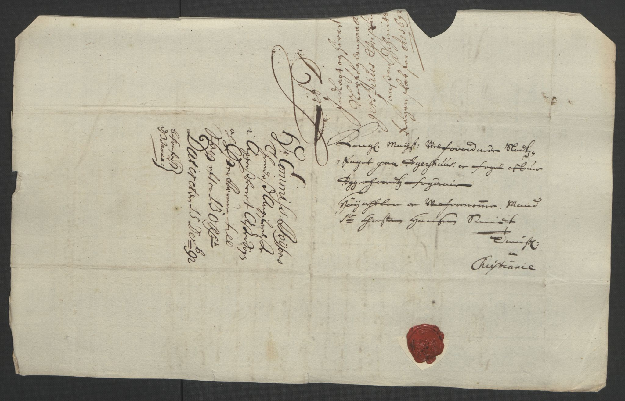 RA, Rentekammeret inntil 1814, Reviderte regnskaper, Fogderegnskap, R08/L0426: Fogderegnskap Aker, 1692-1693, s. 82