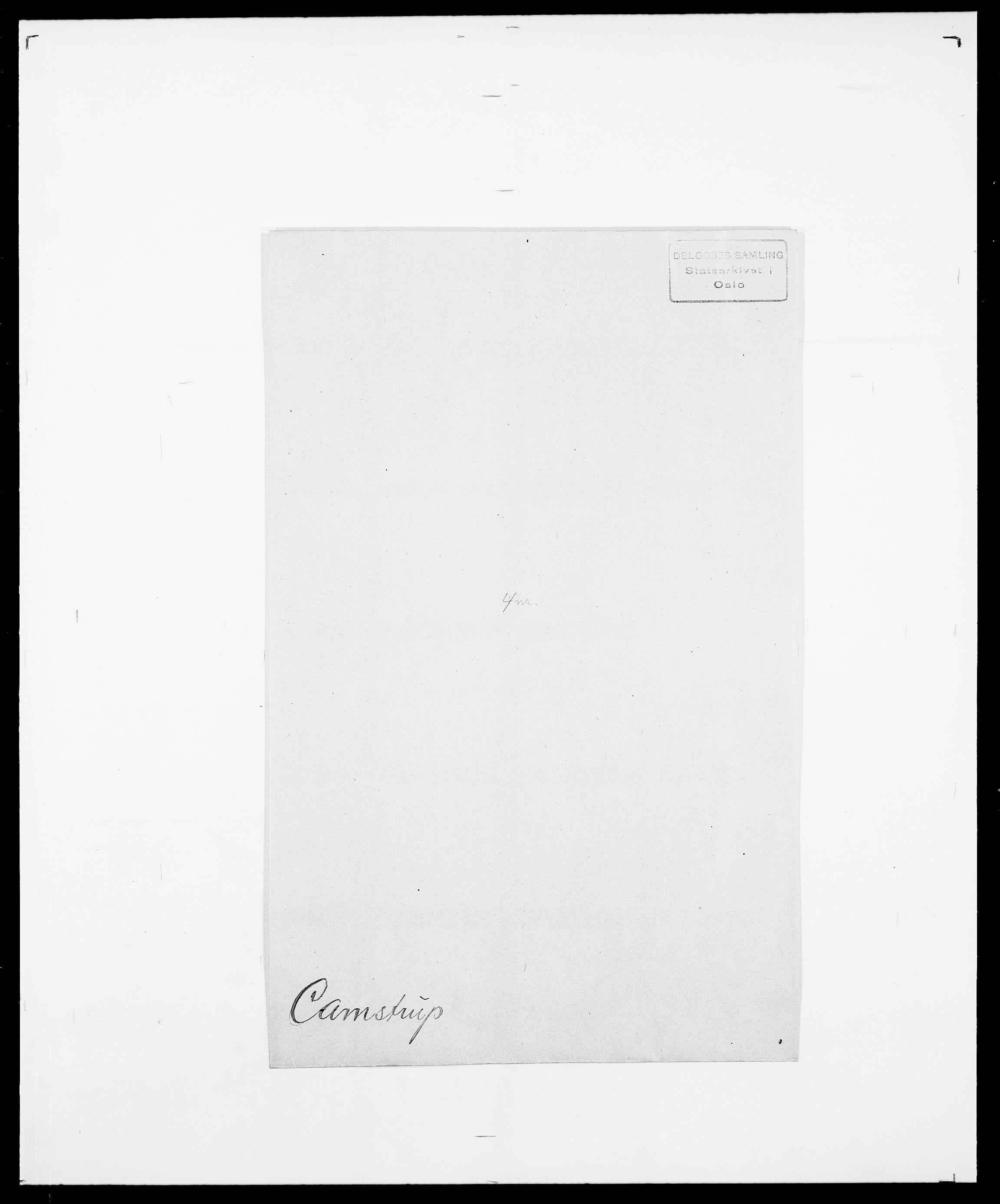 SAO, Delgobe, Charles Antoine - samling, D/Da/L0007: Buaas - Caphengst, s. 844