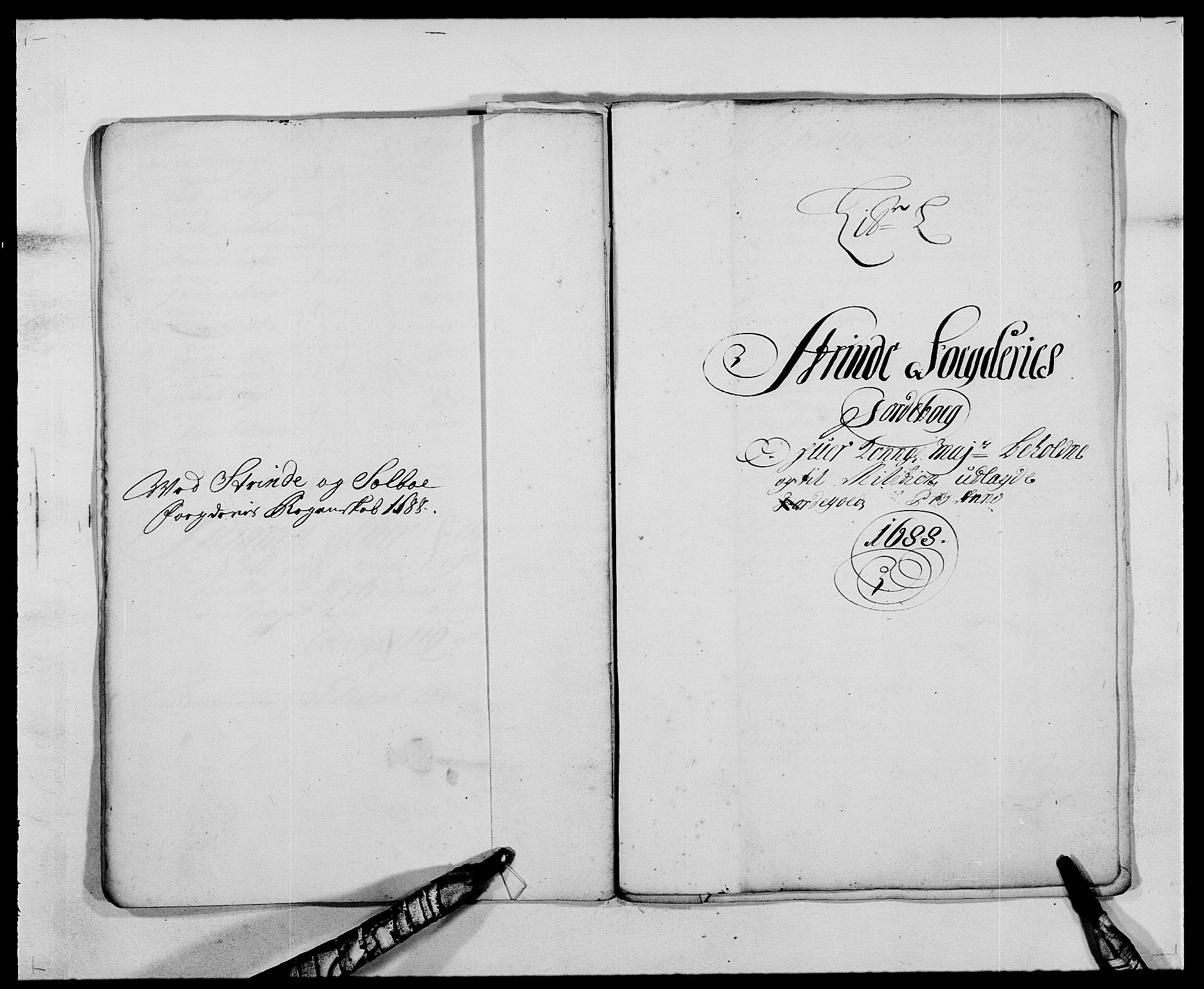 RA, Rentekammeret inntil 1814, Reviderte regnskaper, Fogderegnskap, R61/L4101: Fogderegnskap Strinda og Selbu, 1687-1688, s. 220